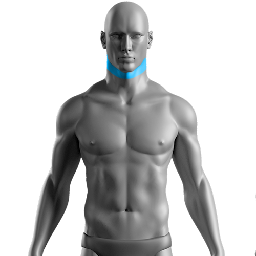10 Sessões de Depilação a Laser Faixa de Barba Masculino