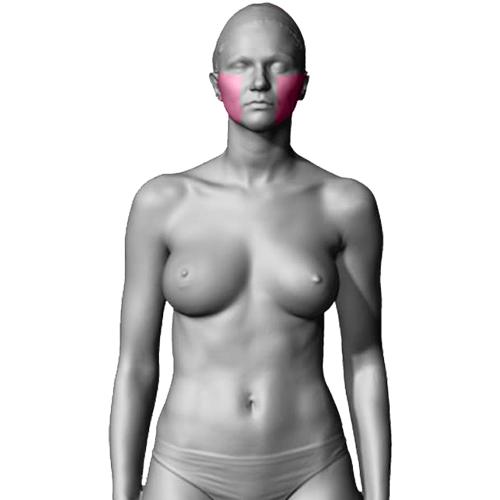 10 Sessões de Depilação a Laser Face Laterais Feminino