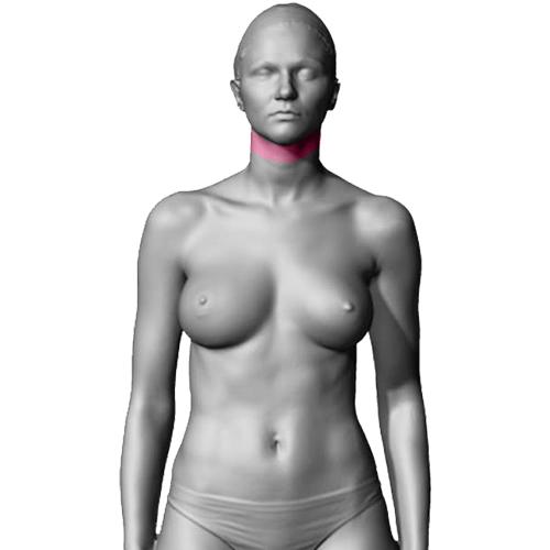 10 Sessões de Depilação a Laser Pescoço Feminino