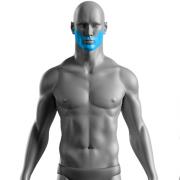 10 Sessões de Depilação a Laser Barba Completa Masculino