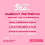 4 Sessões de Criofrequencia ou Power Shape