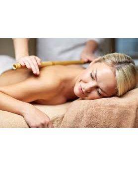 1 sessão de Massagem com  Bambu