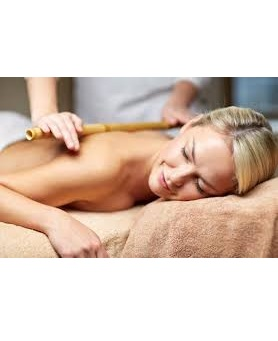5 Sessões de Massagem com  Bambu