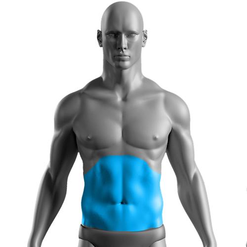 10 Sessões de Depilação a Laser Abdômen Masculino