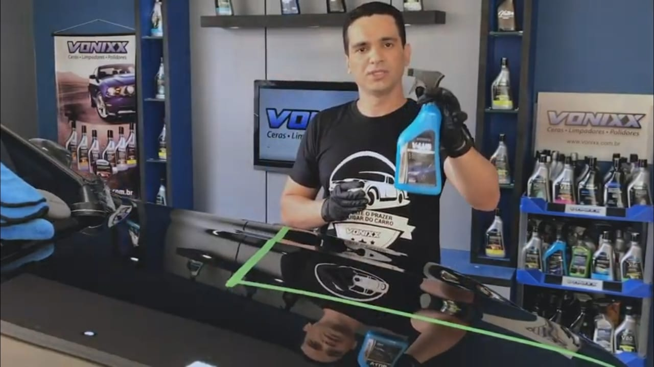 Descontaminante lubrificante de pintura Vonixx V-lub 500ml