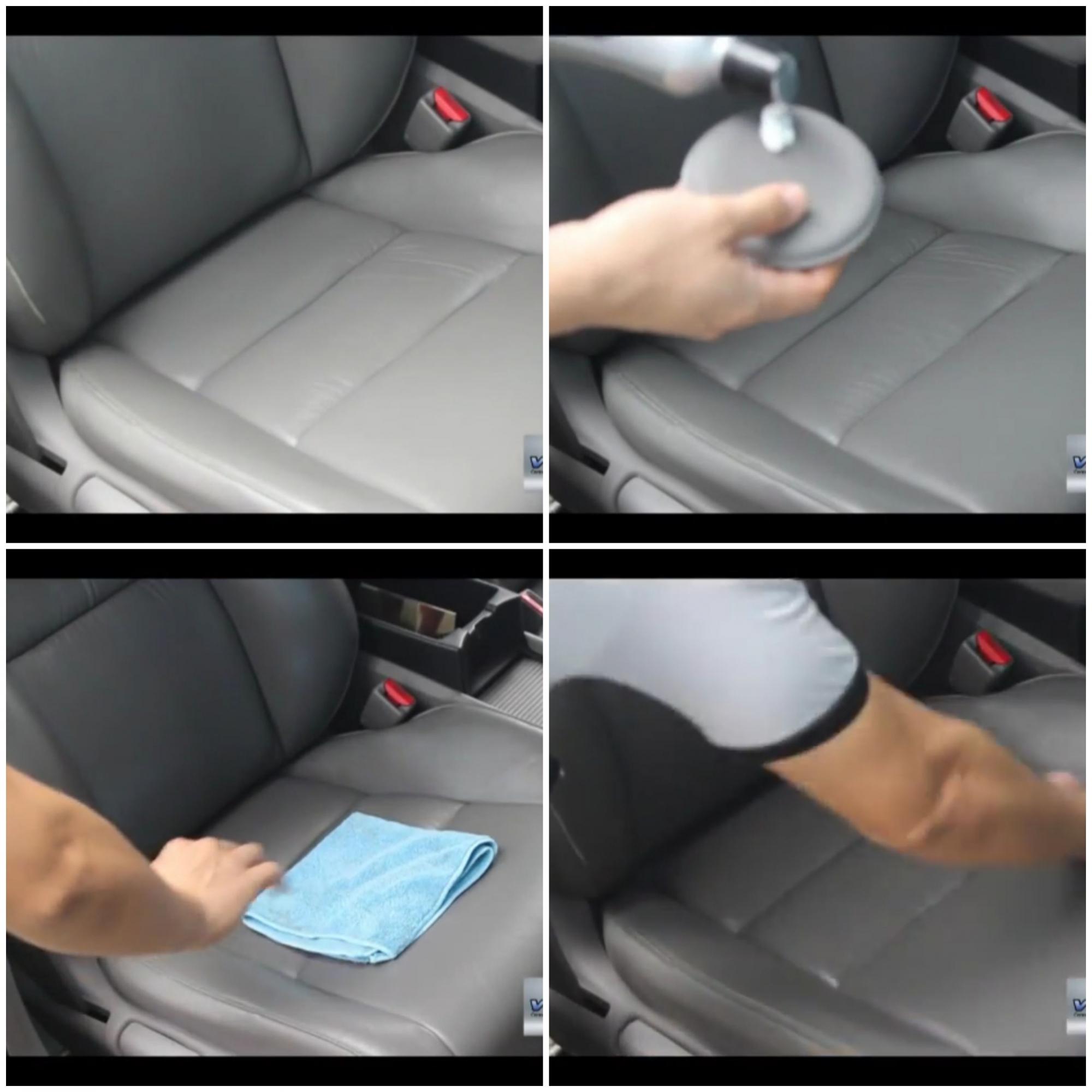 Hidracouro vonixx Tratamento de banco de couro c/ Aplicador e Microfibra