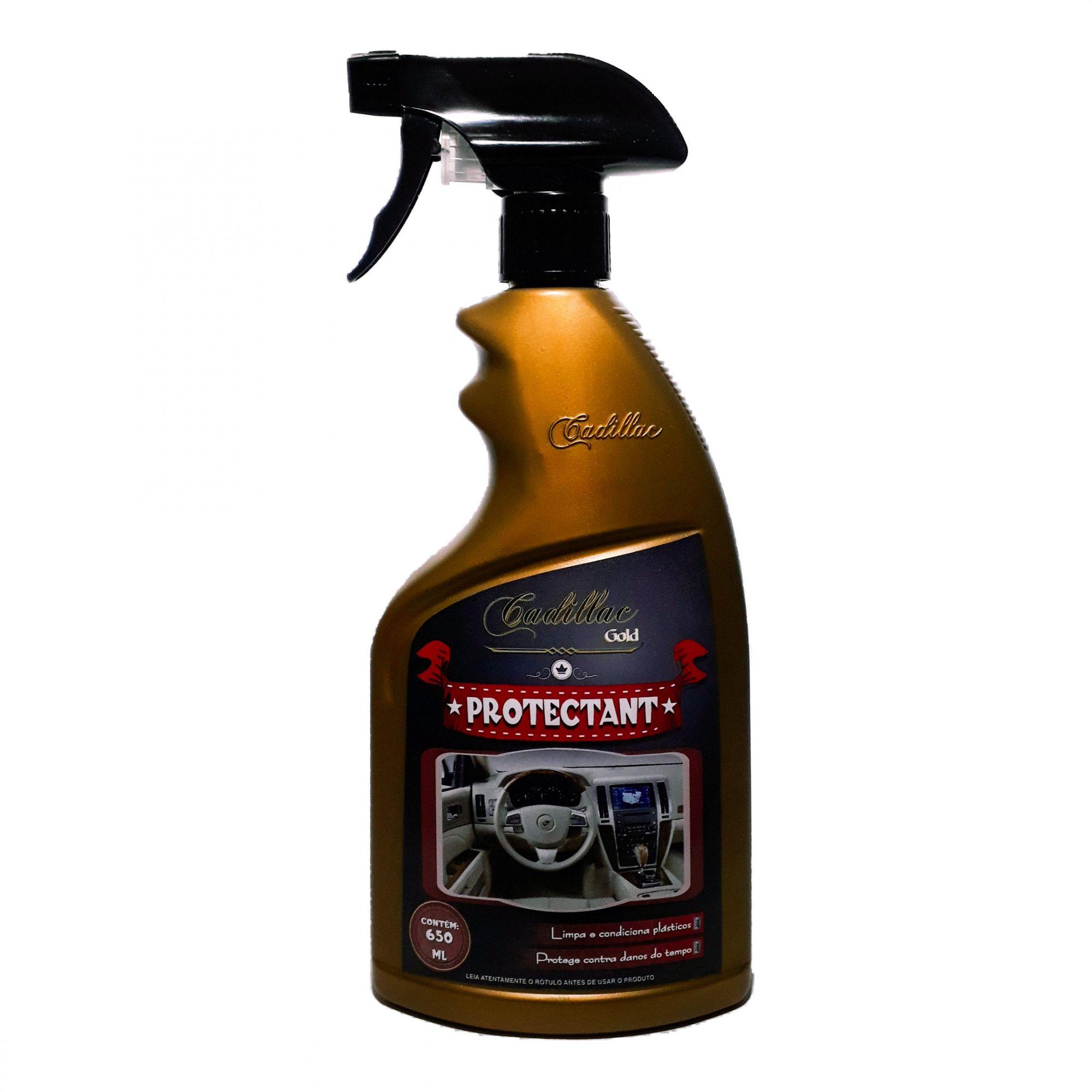 Limpa condiciona protege plastico Protectant Cadillac 650ml