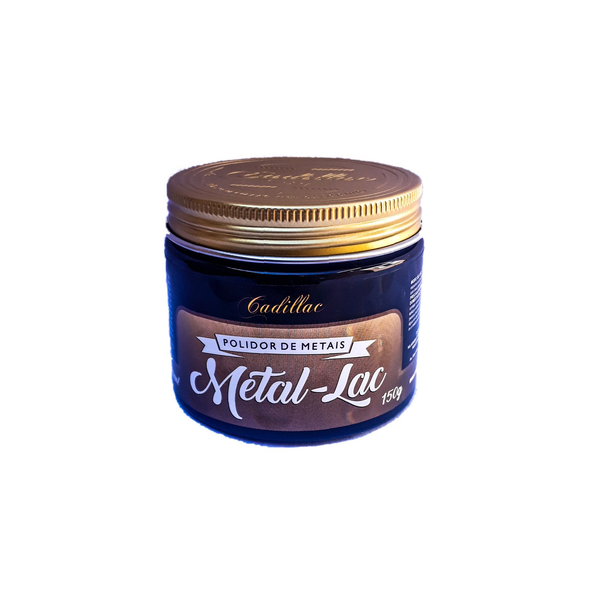 Polidor restaurador metais cromo cromados metal lac cadillac