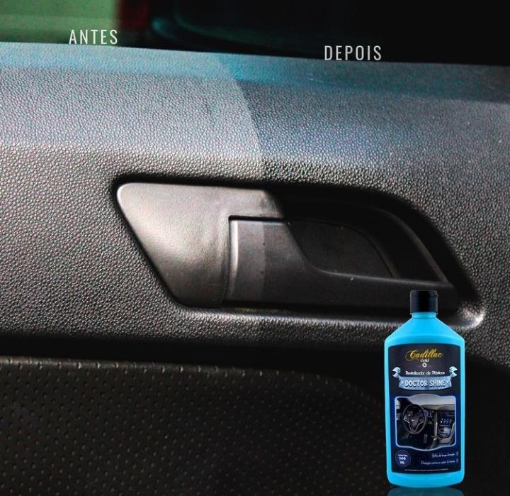 Revitalizador de Plastico Doctor Shine Cadillac com Aplicador Microfibra