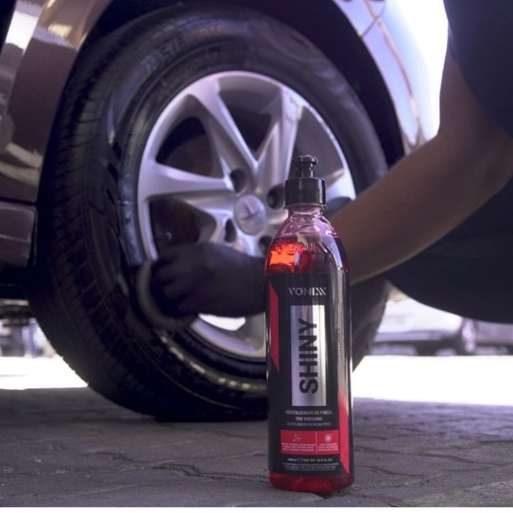 Revitalizador de pneus vonixx shiny brilho molhado longa durabilidade