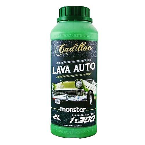 Shampoo carro automotivo Cadillac monster pH neutro 2 L