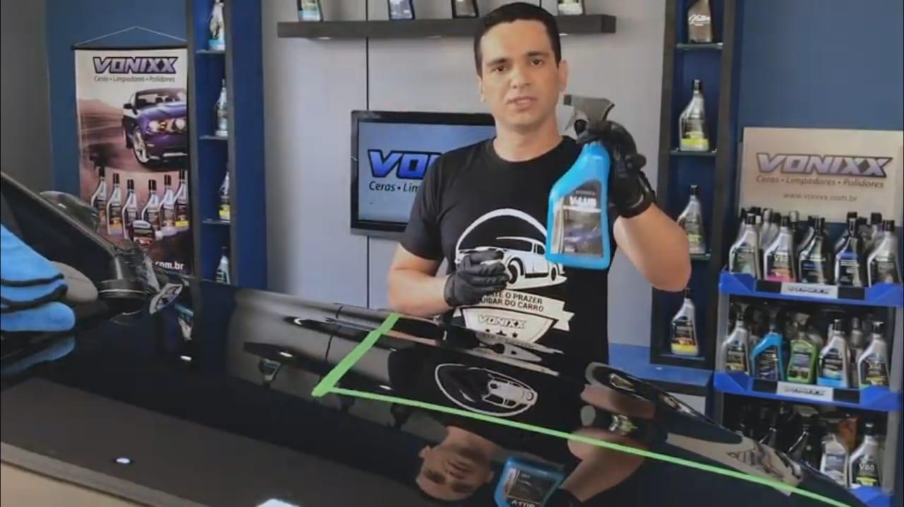 V-LUB lubrificante vonixx + V BAR massa descontaminante 100g