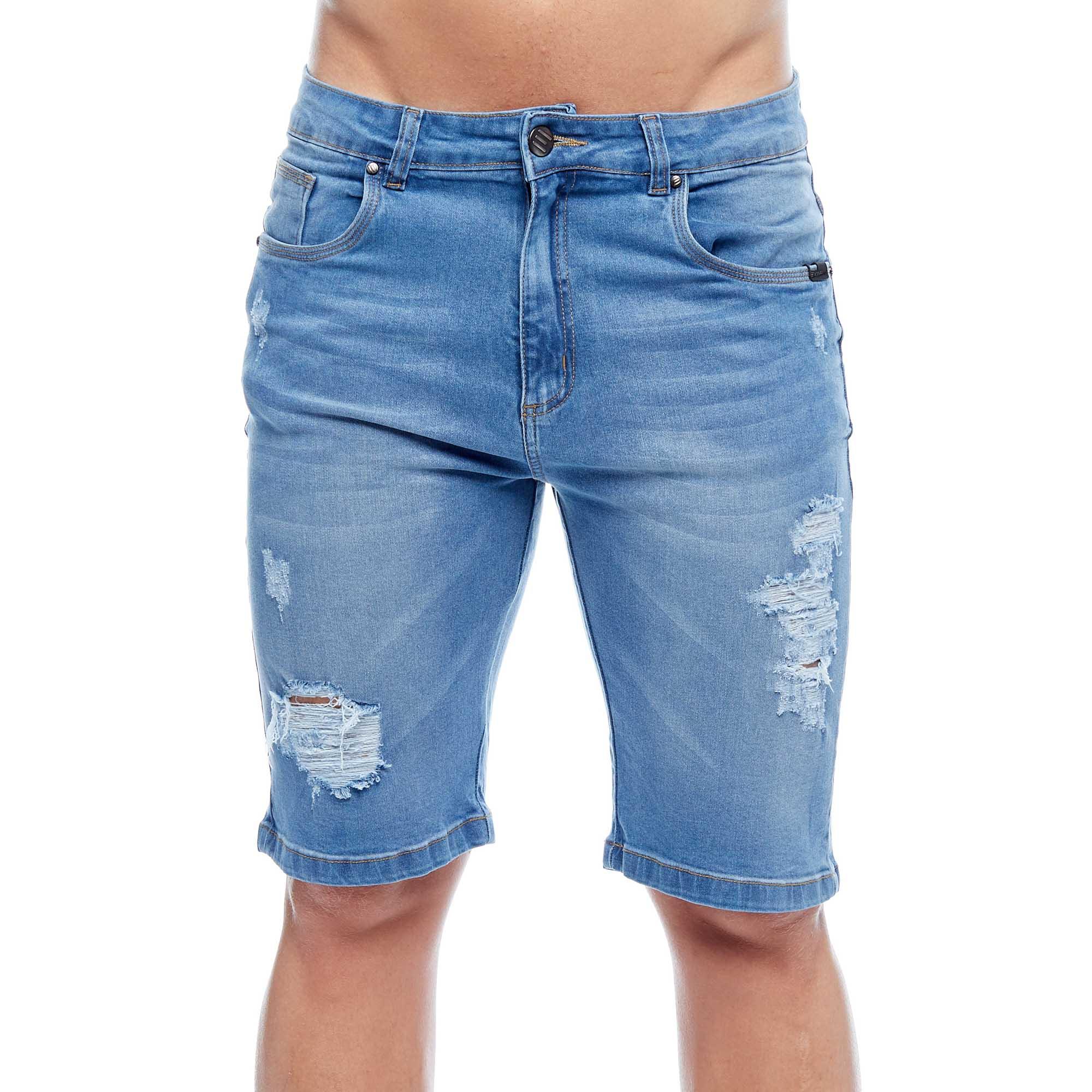 Bermuda Jeans Evolvee  Slim Straight