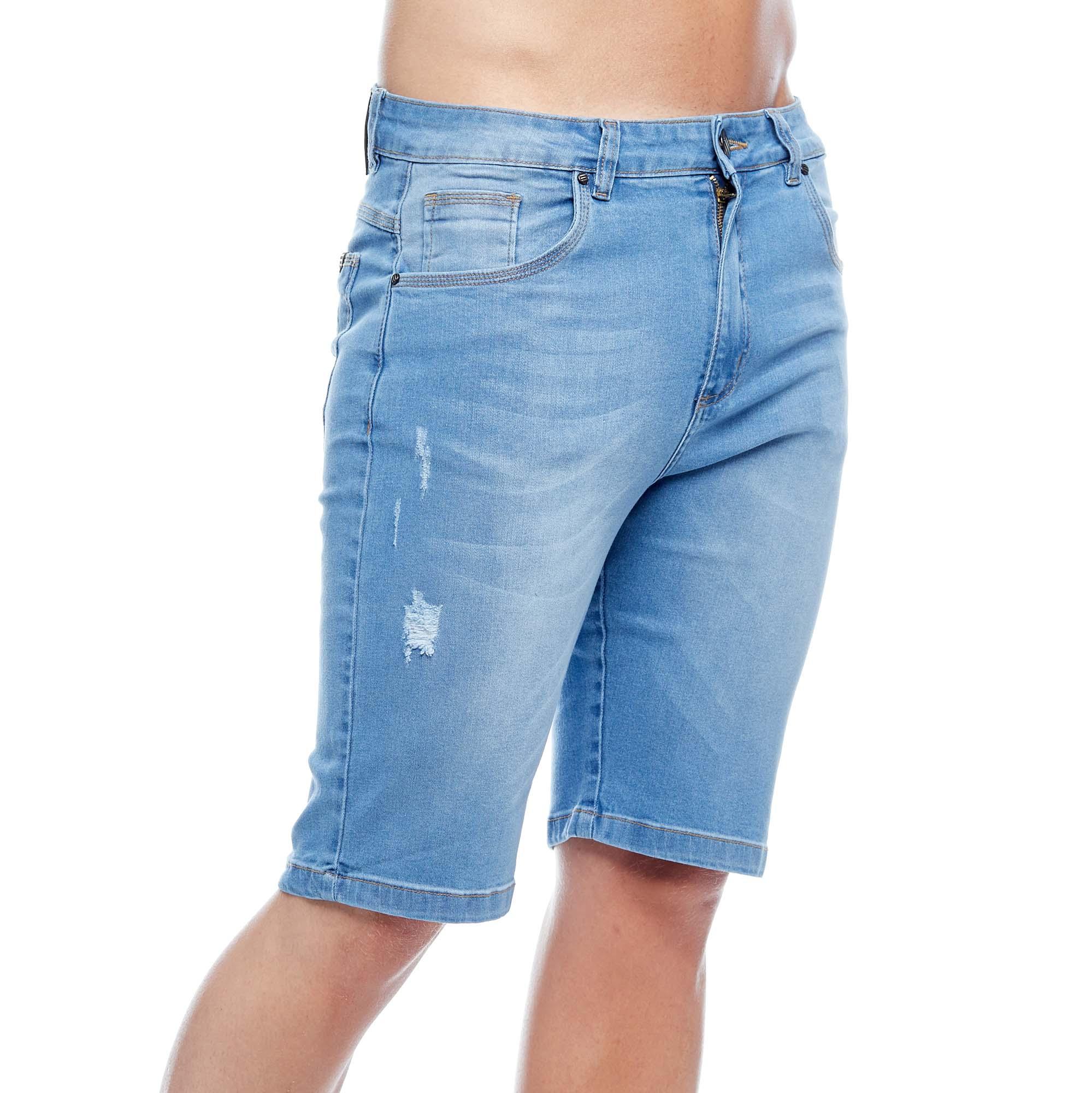 Bermuda Jeans Slim Straight Evolvee