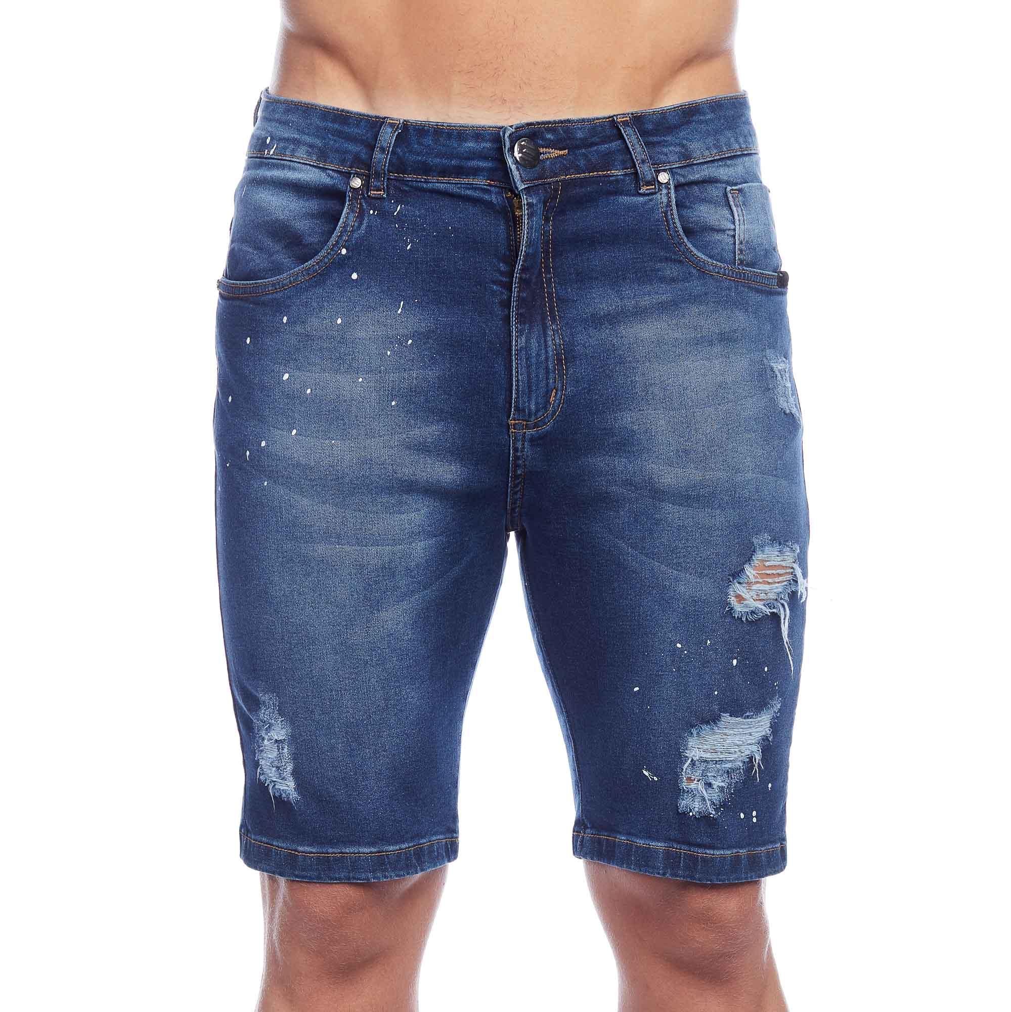 Bermuda Jeans Premium Stretch Evolvee