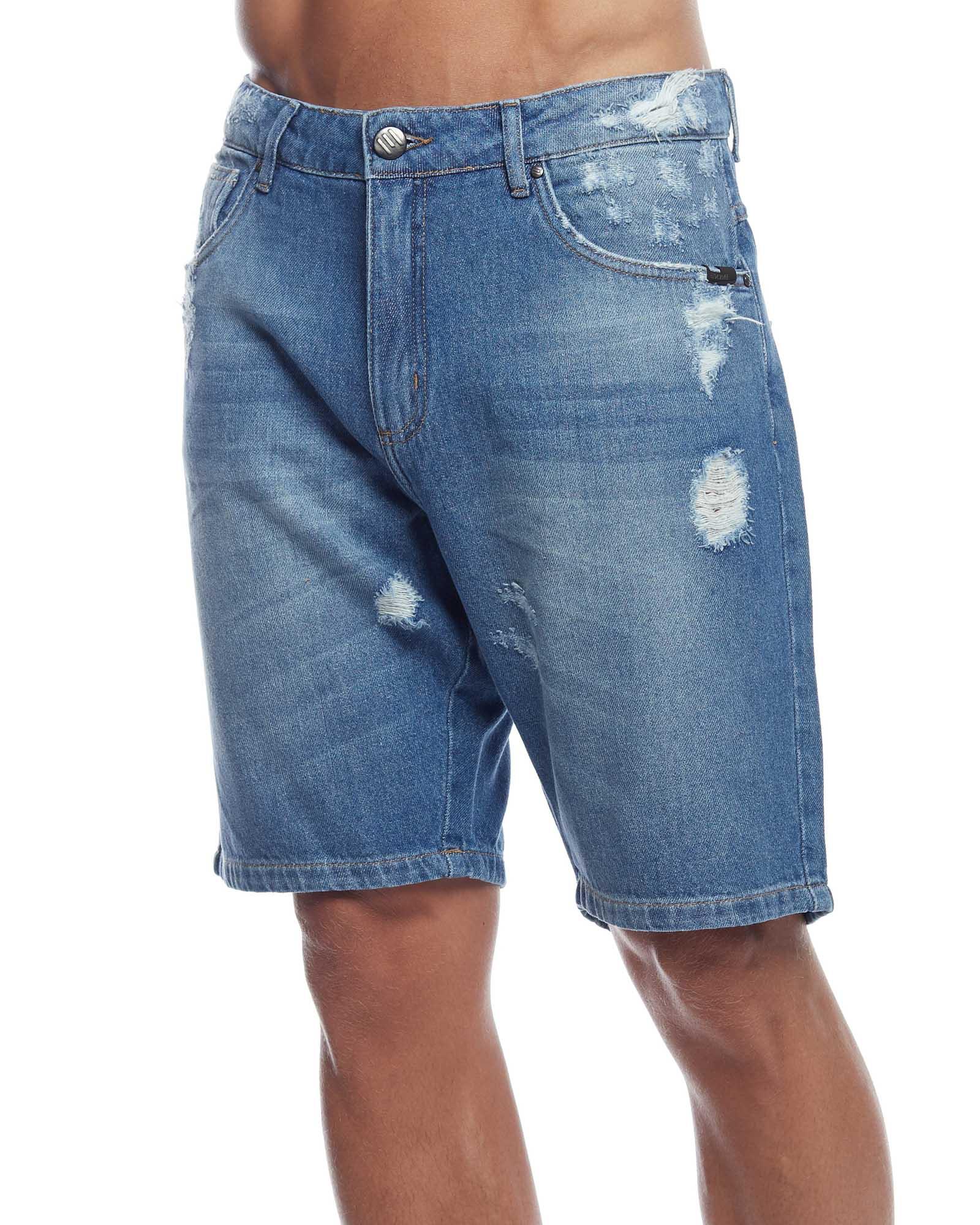 Bermuda Jeans  Slim Stretch Evolvee