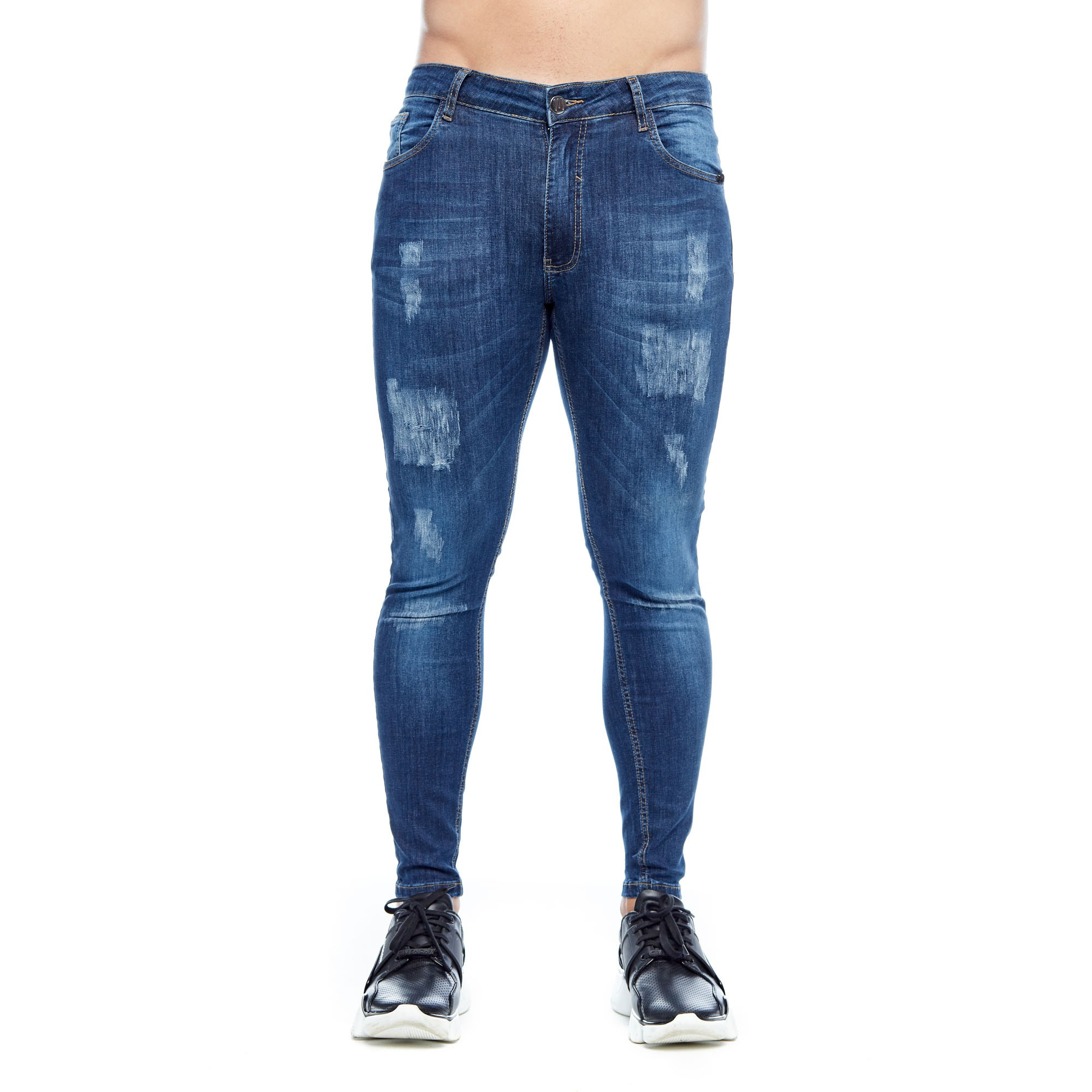 Calça Jeans Super Body Skinny Evolvee
