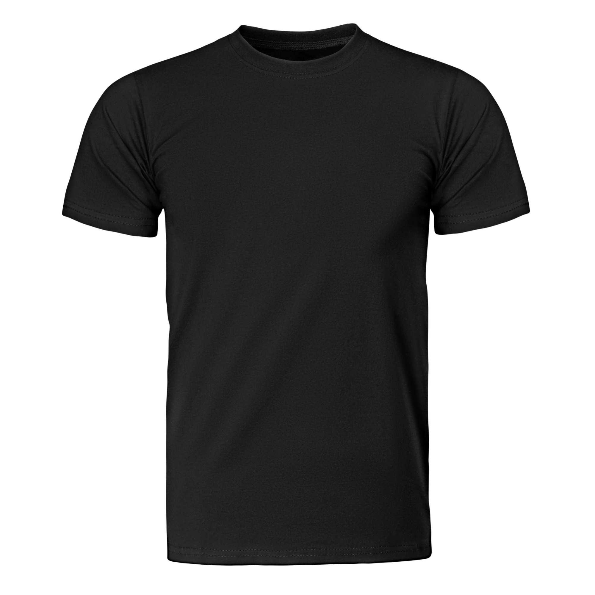 Camiseta Básica Preta Algodão Orgânico