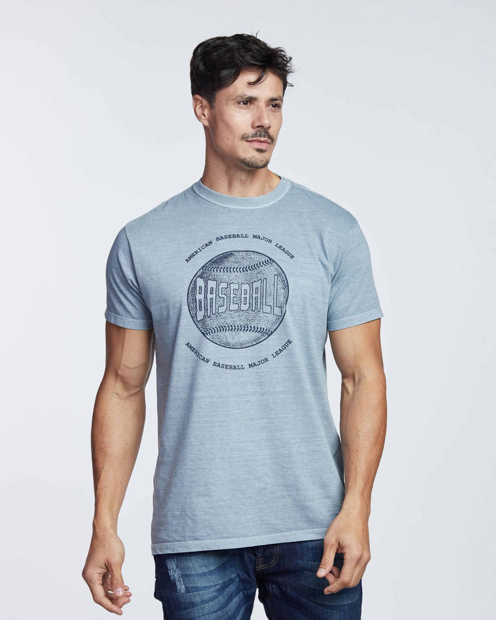 Camiseta Baseball Masculina Evolvee