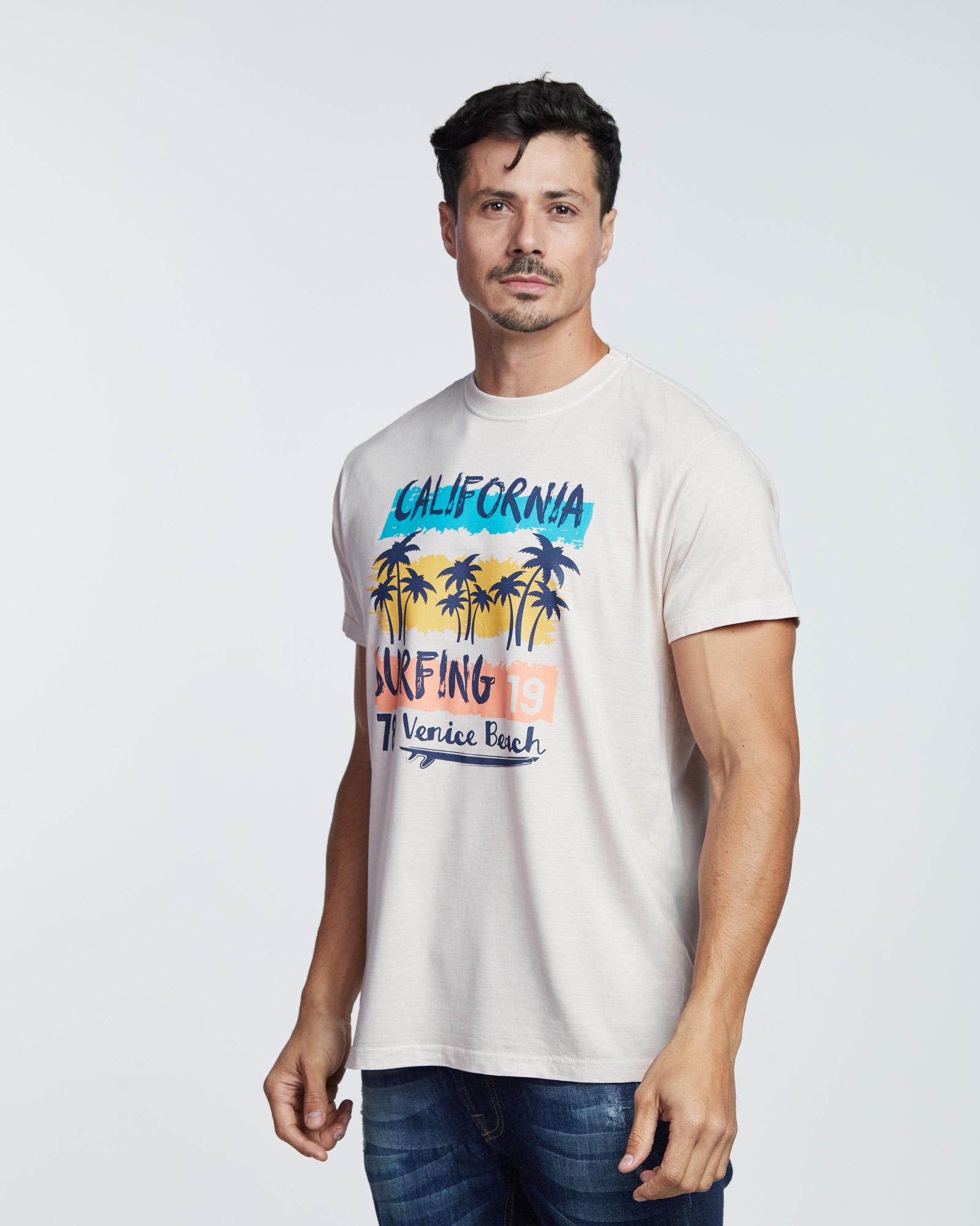 Camiseta California Surfing Masculina Evolvee