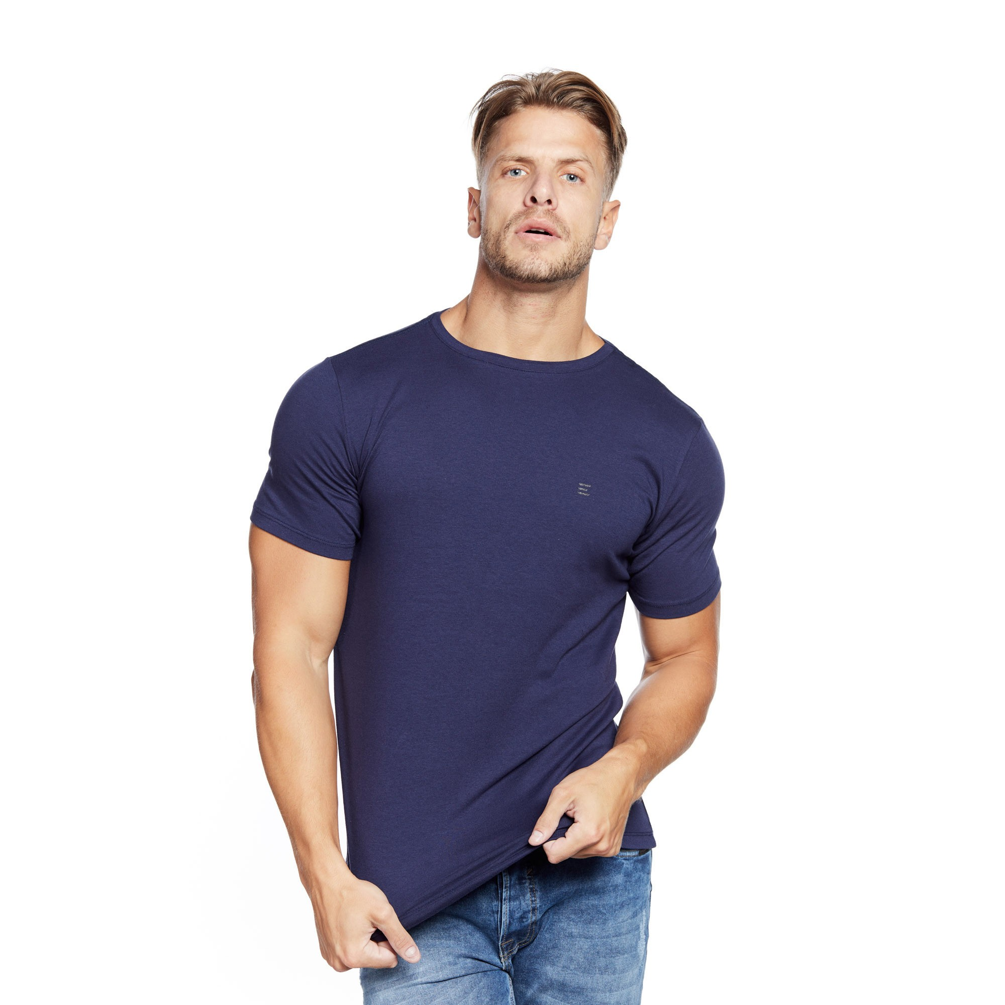 Camiseta Cotton Lycra Masculina Evolvee