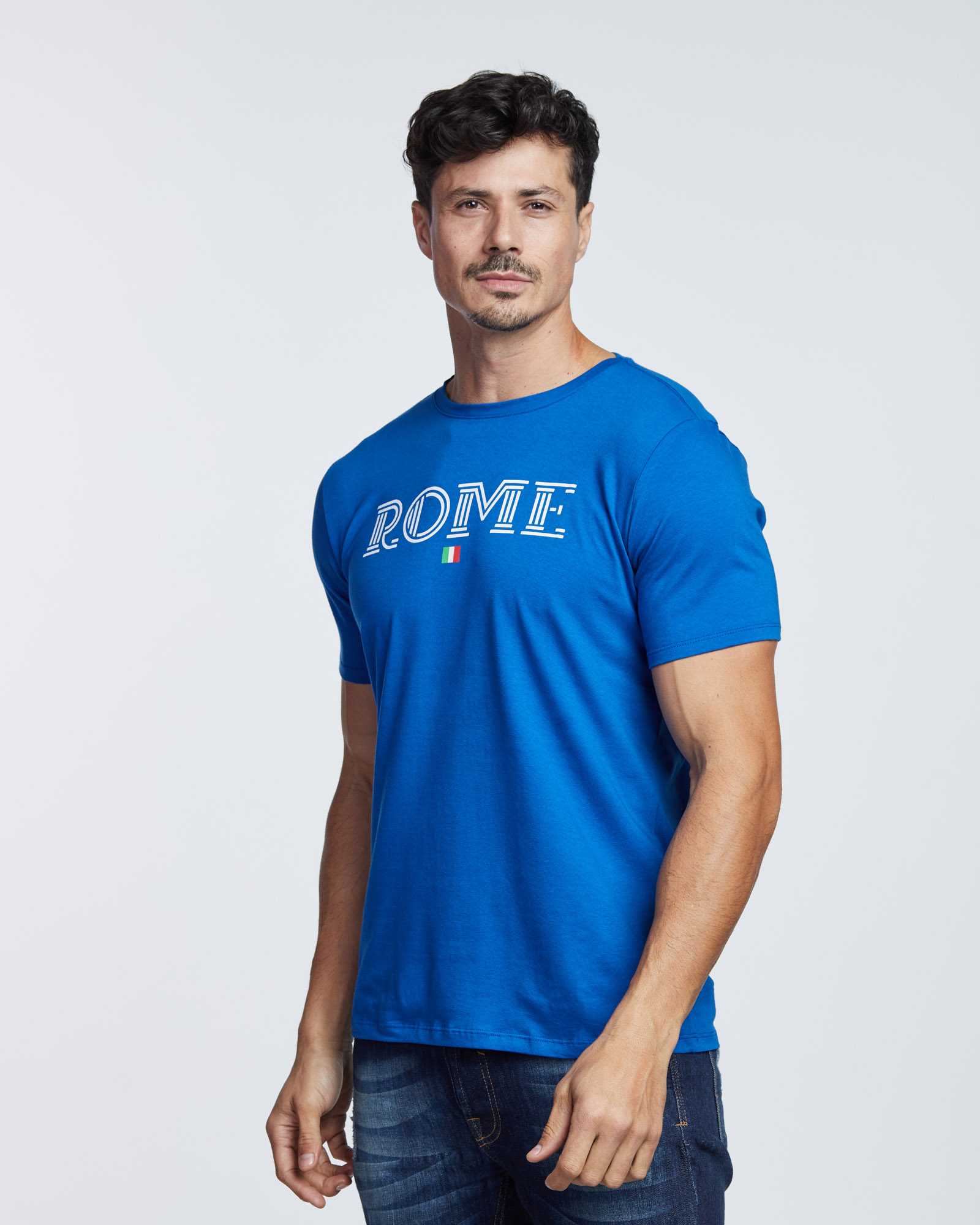 Camiseta Cotton Rome Masculina Evolvee