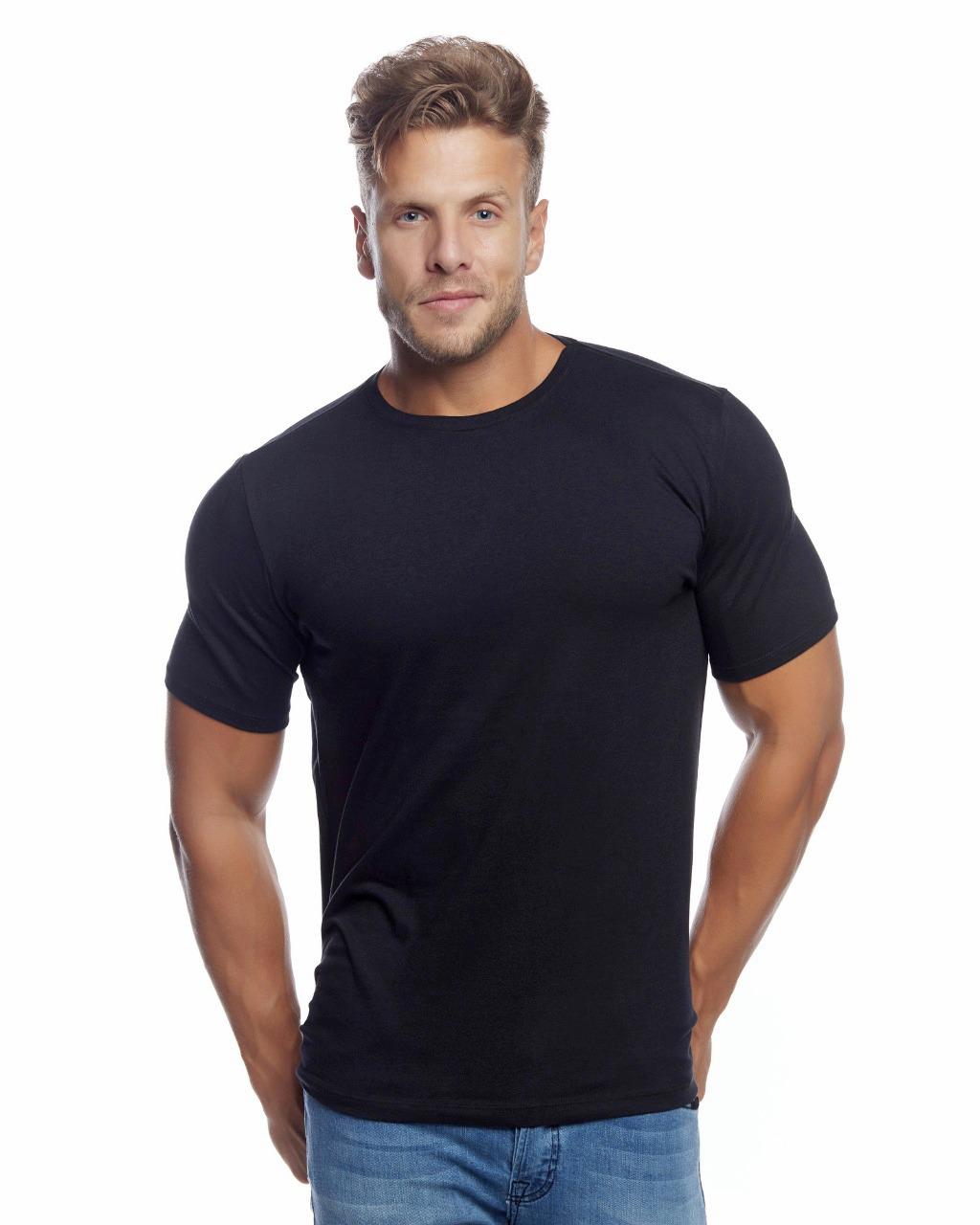 Camiseta Cotton Stretch Masculina Evolvee