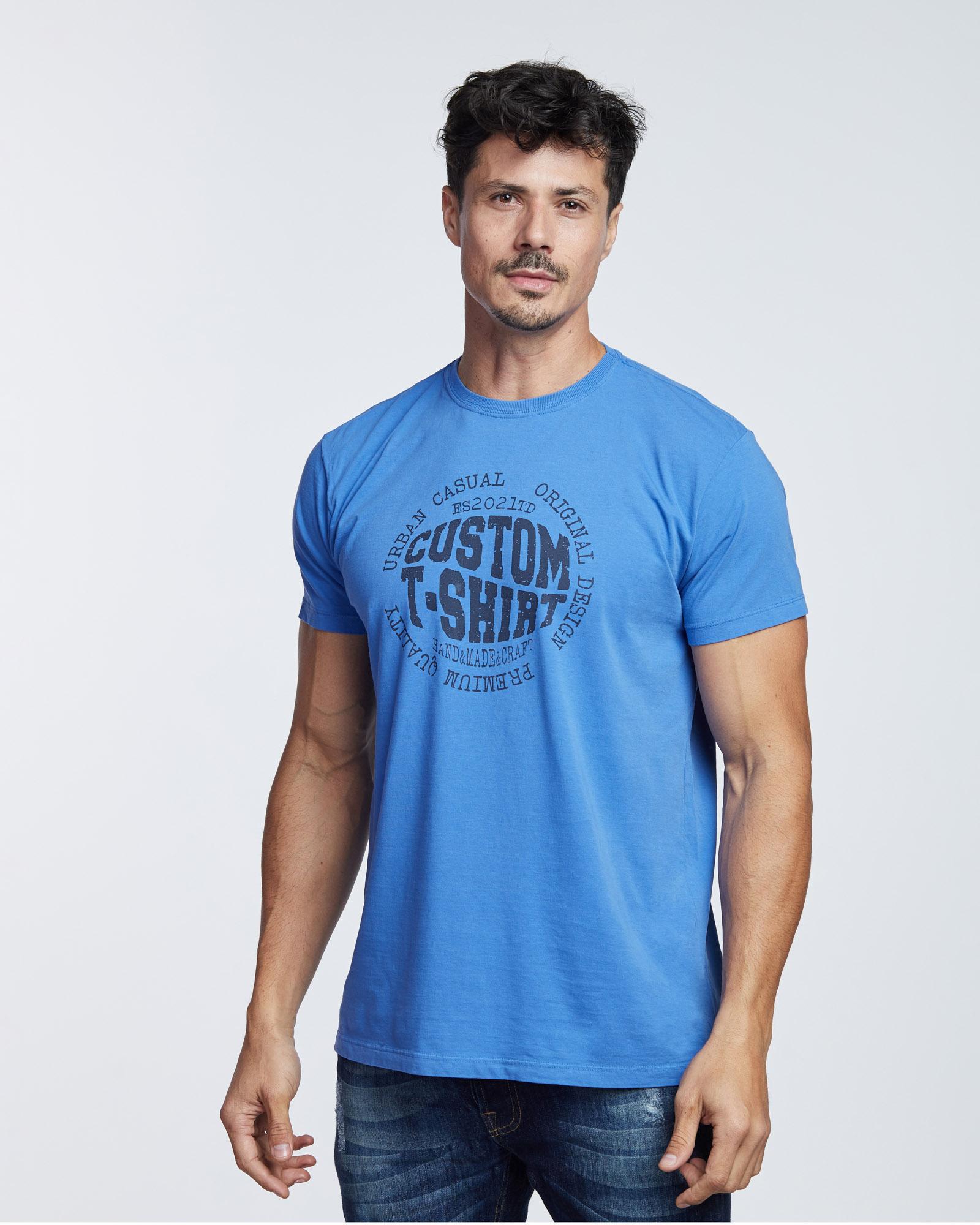 Camiseta Custom Design Masculina Evolvee