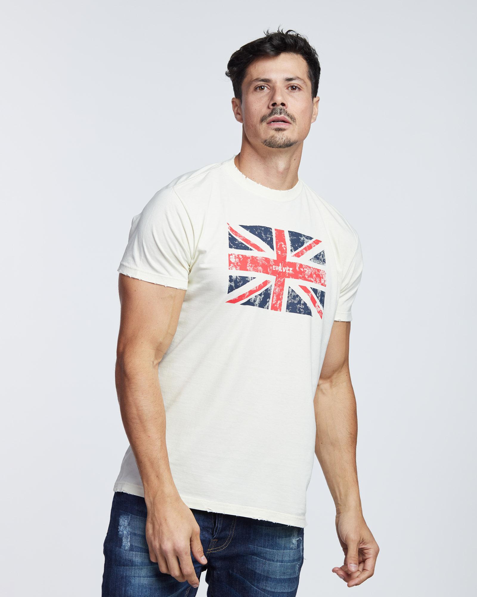 Camiseta England Flag Masculina Evolvee