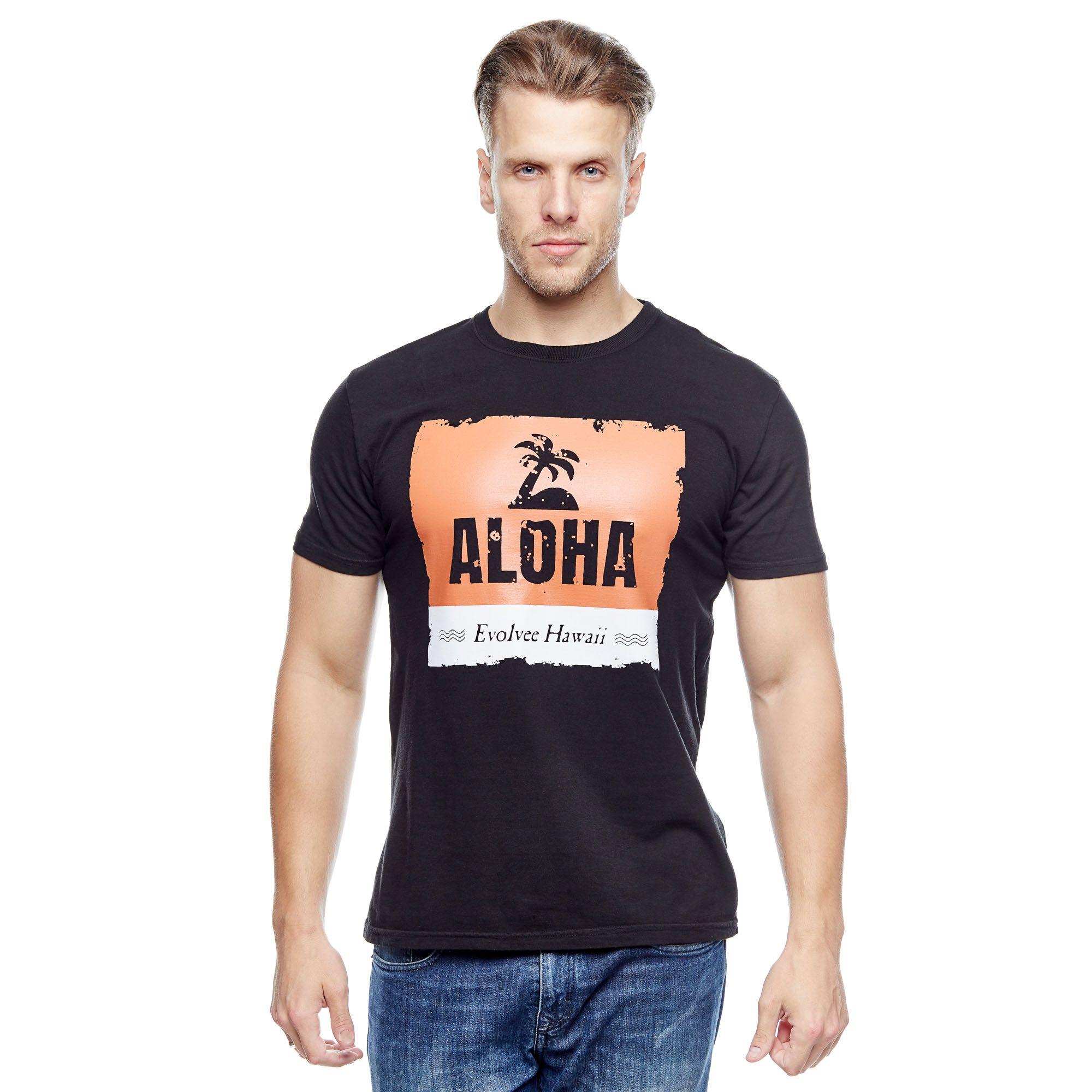 Camiseta Aloha Hawaii Masculina Evolvee