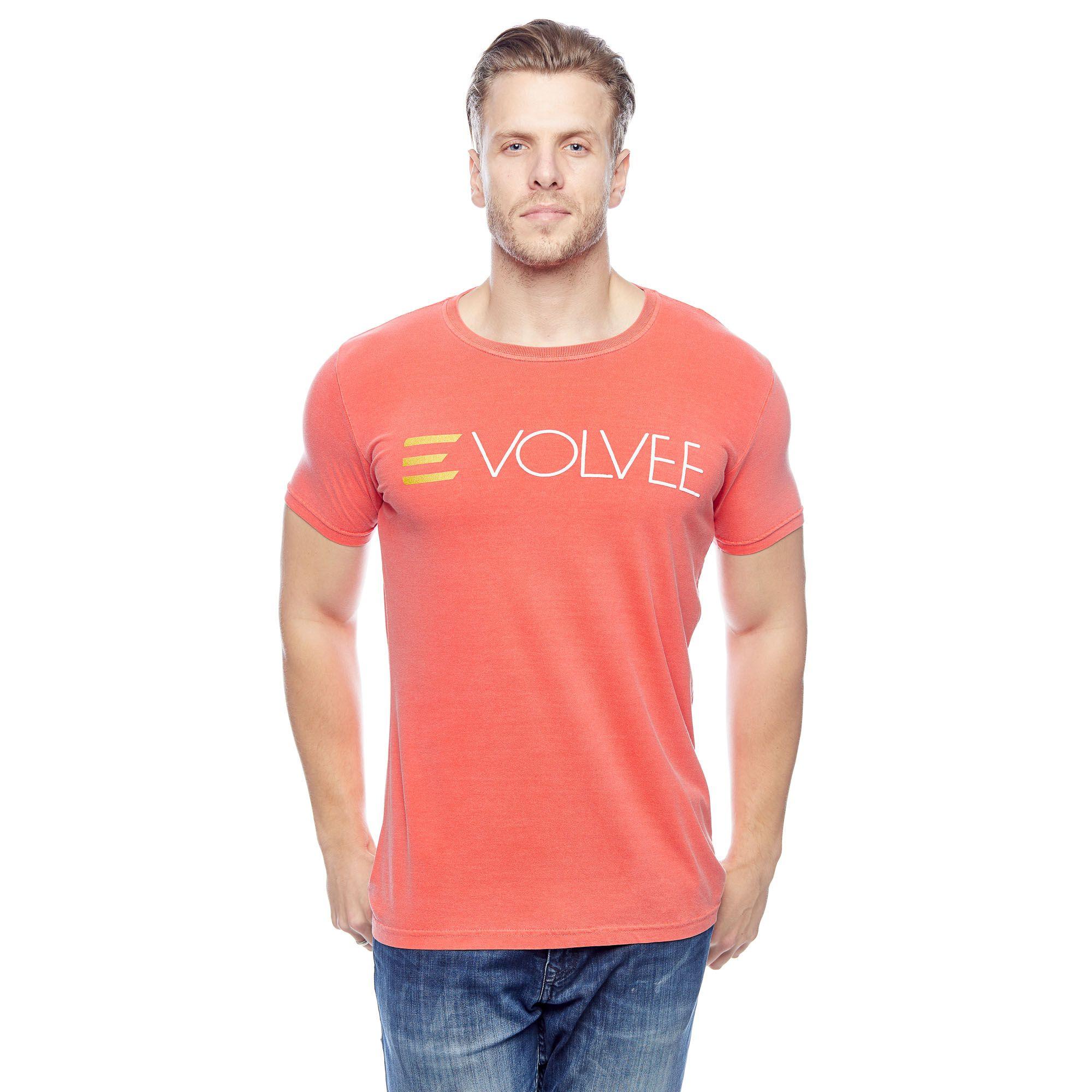 Camiseta Evolvee Basic Name Masculina