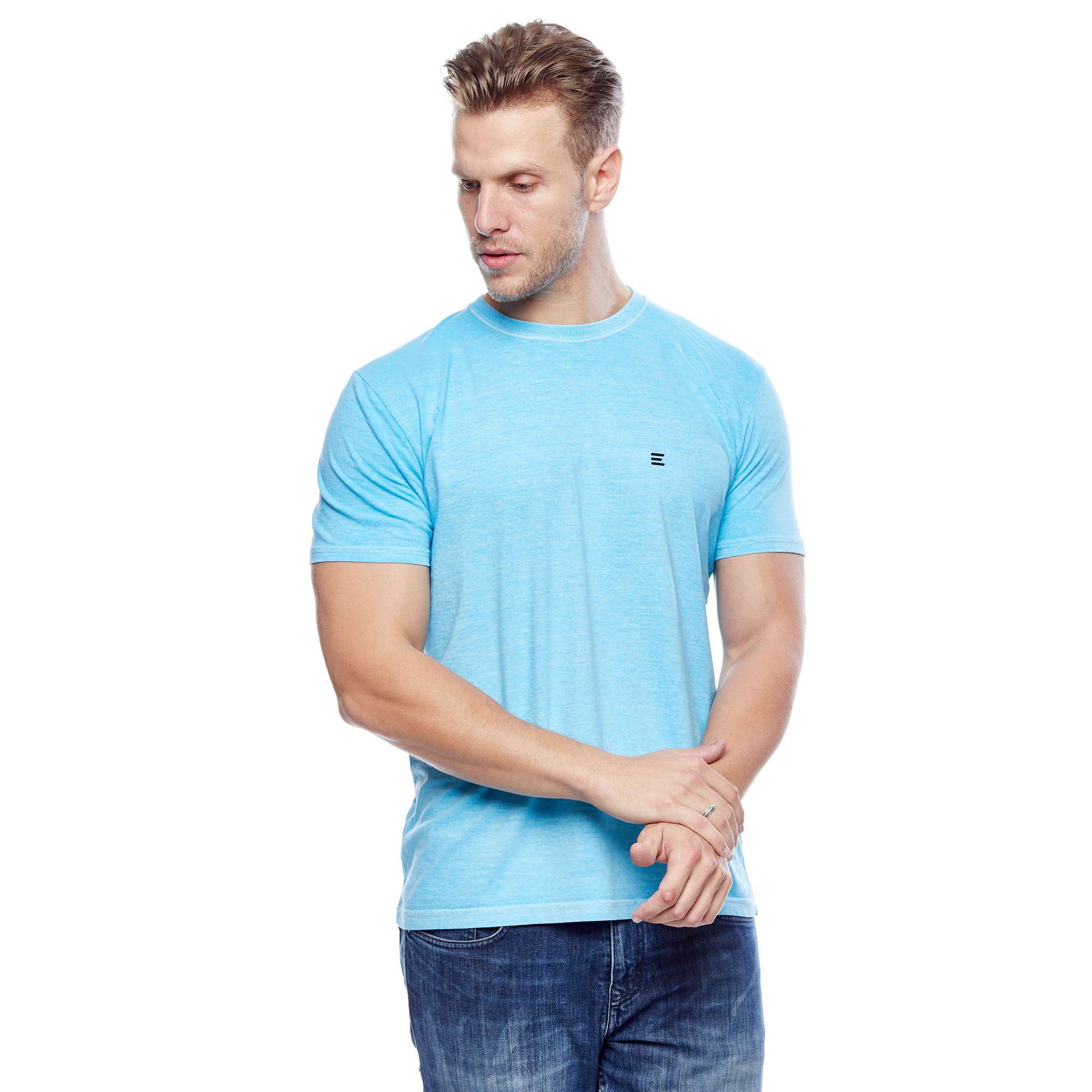 Camiseta Básica Estonada Neon Masculina Evolvee
