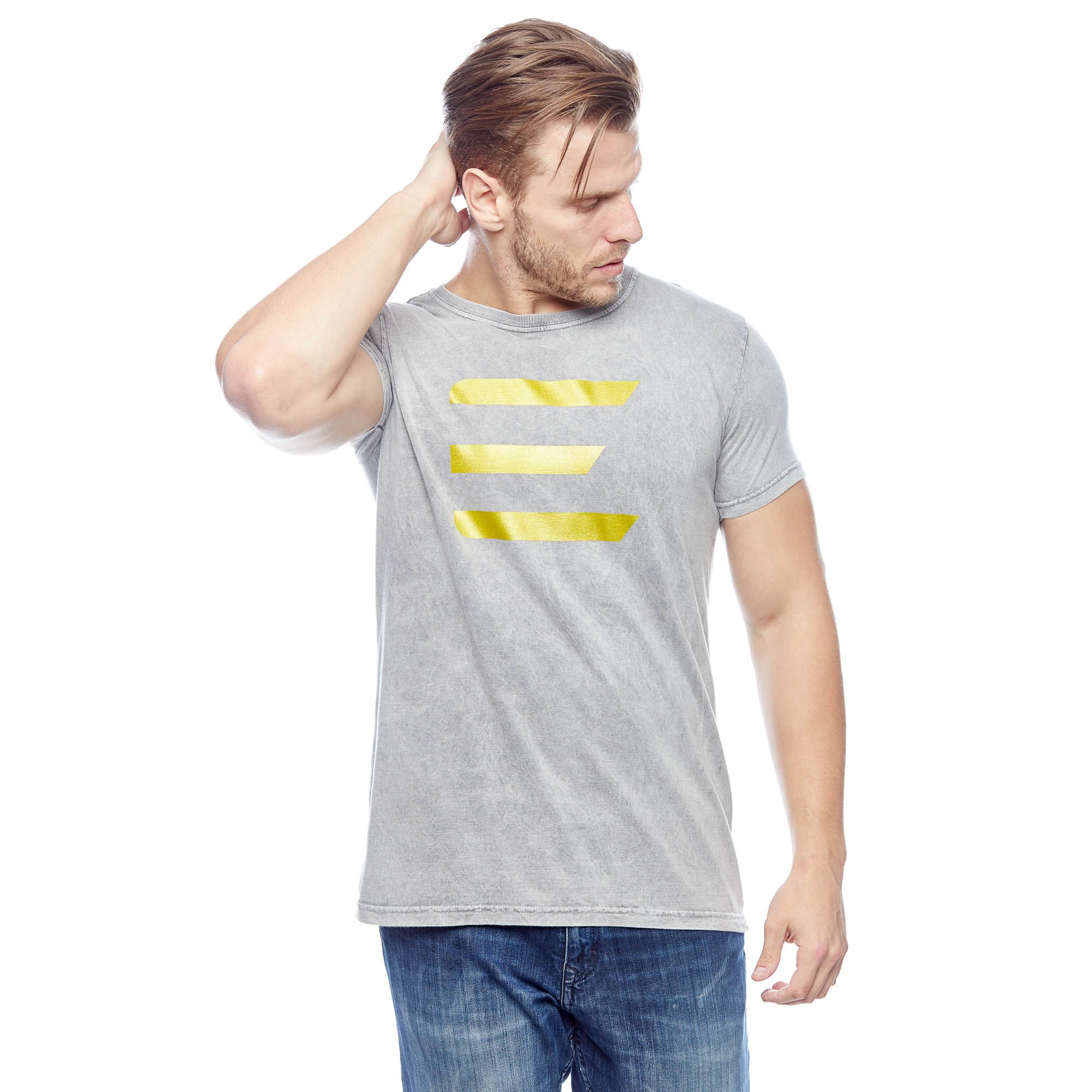 Camiseta Evolvee Básica Marmorizada E-Sport Masculina