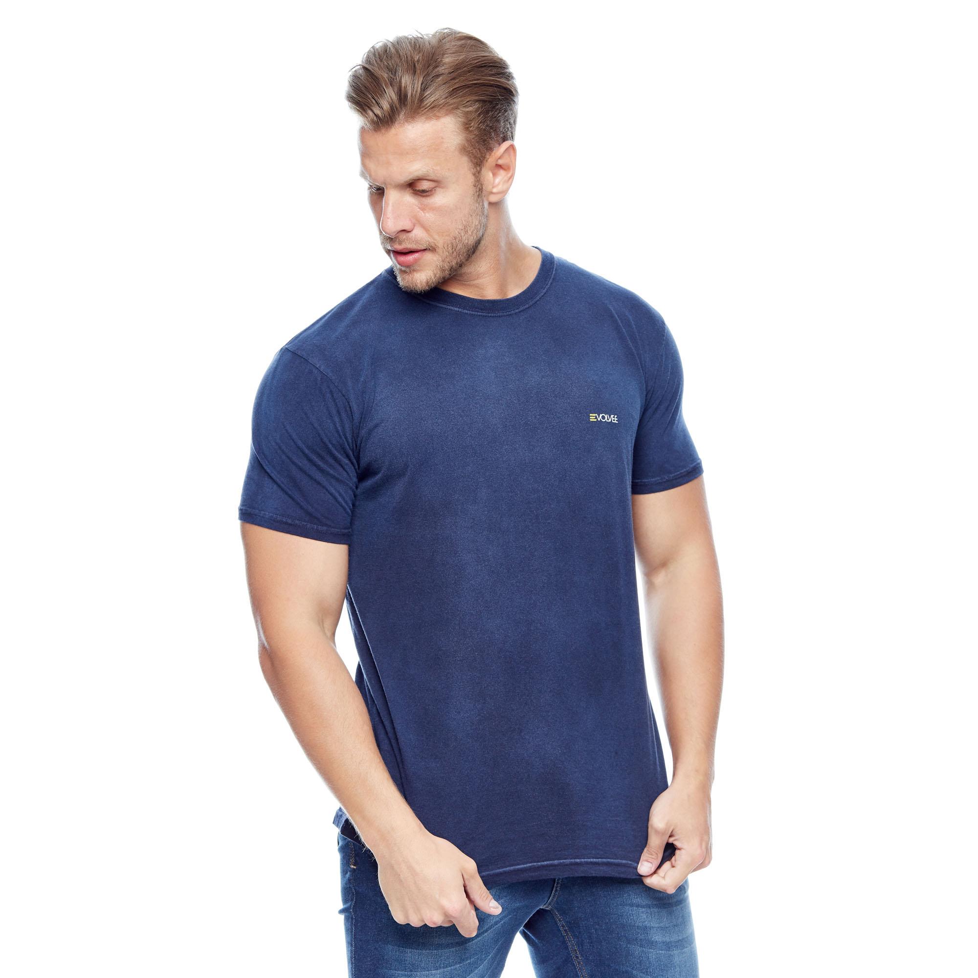Camiseta Evolvee Básica Used Total Masculina