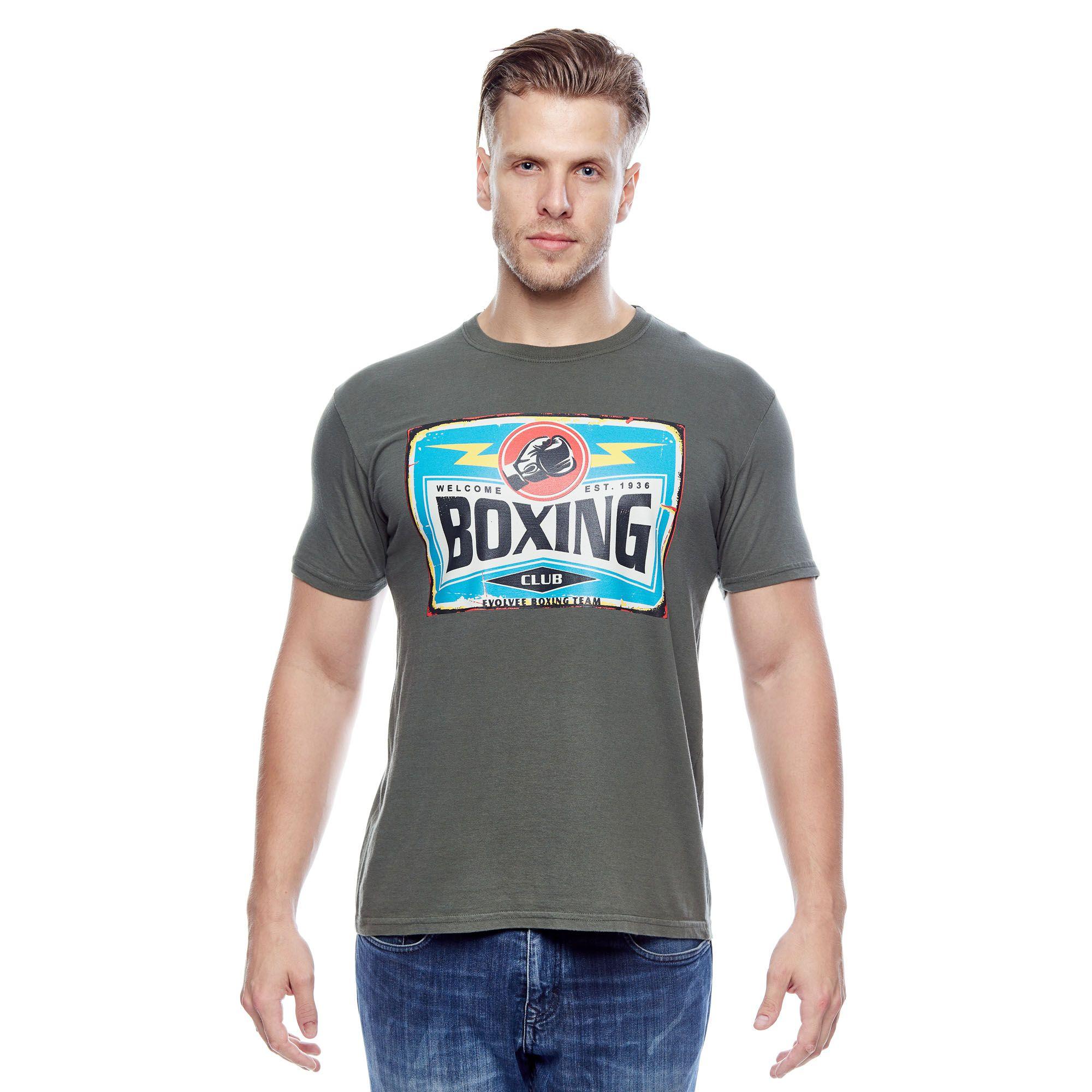 Camiseta Evolvee Boxing Masculina