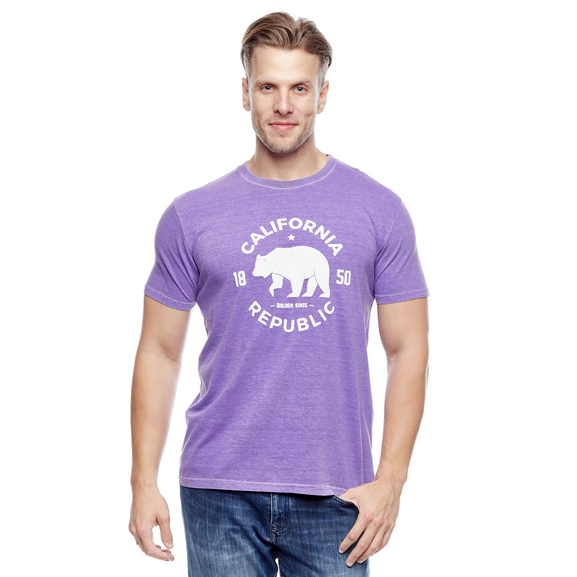 Camiseta Evolvee California Republic Masculina