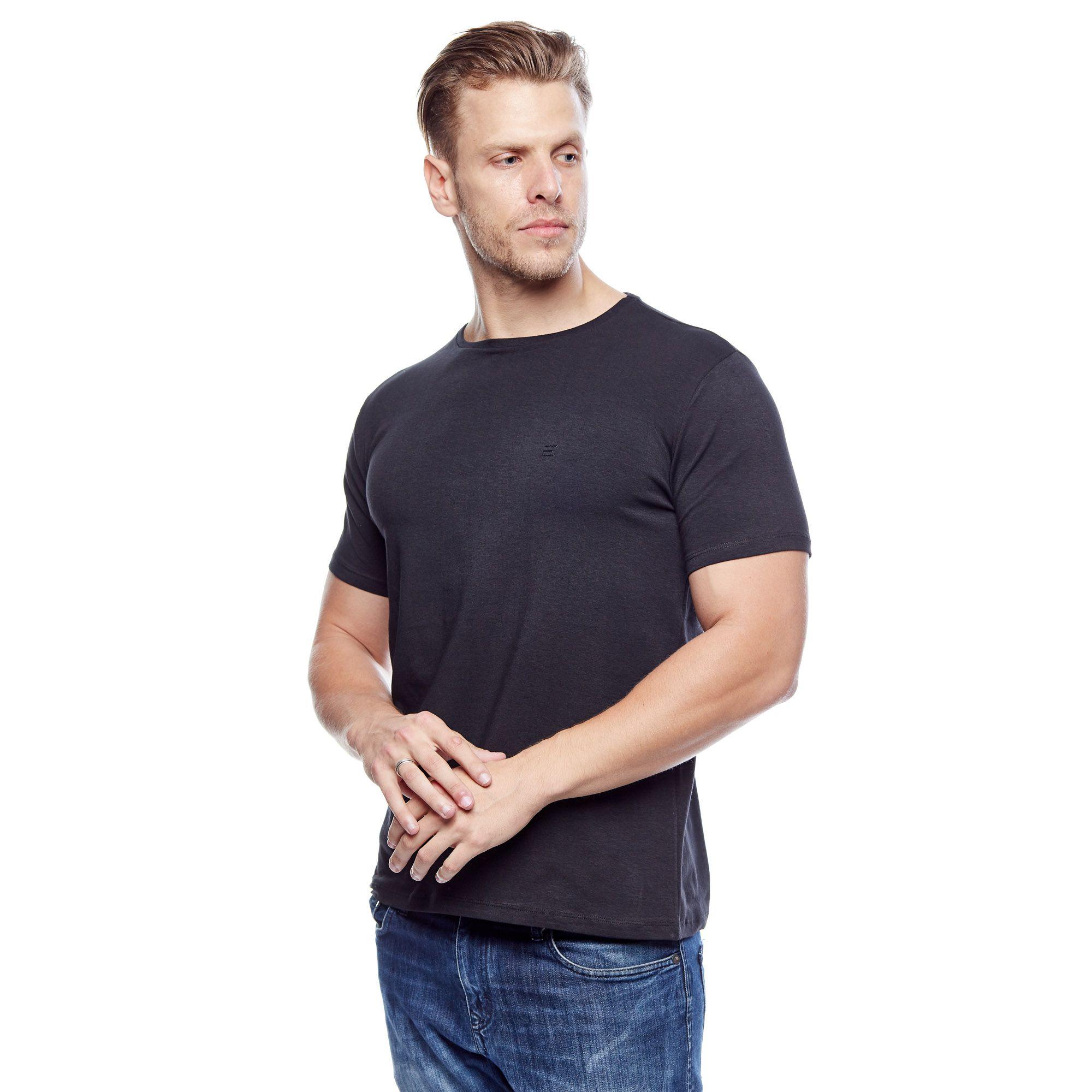 Camiseta Evolvee Cotton Lycra Masculina