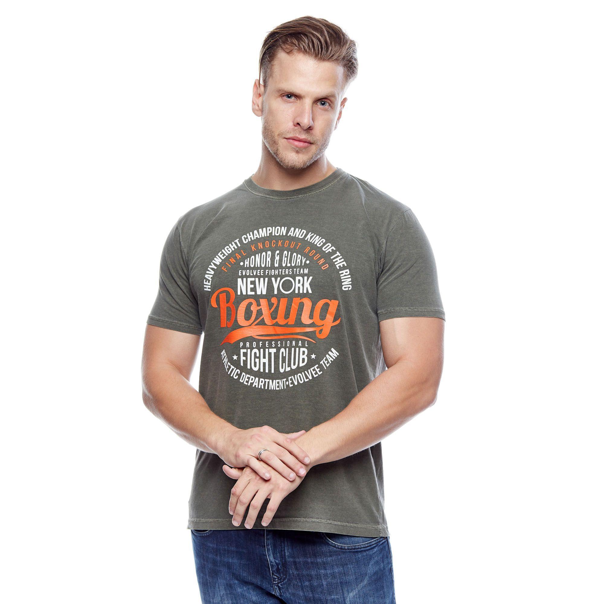 Camiseta Evolvee Honor Boxing Masculina