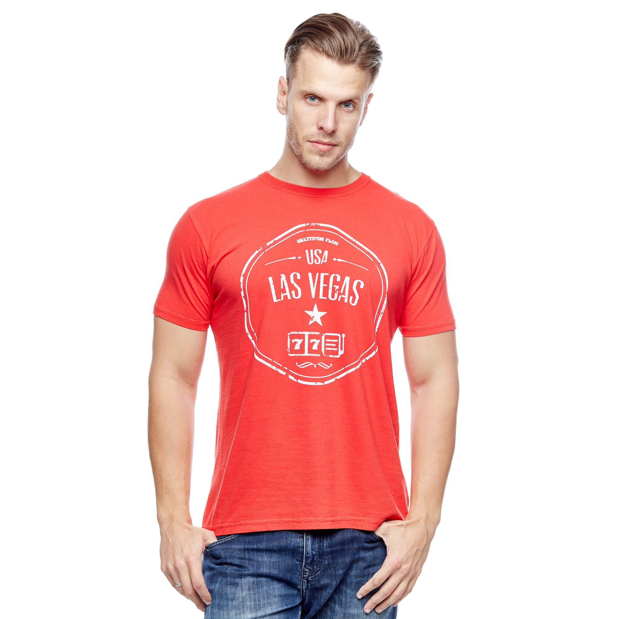 Camiseta Evolvee Las Vegas Masculina
