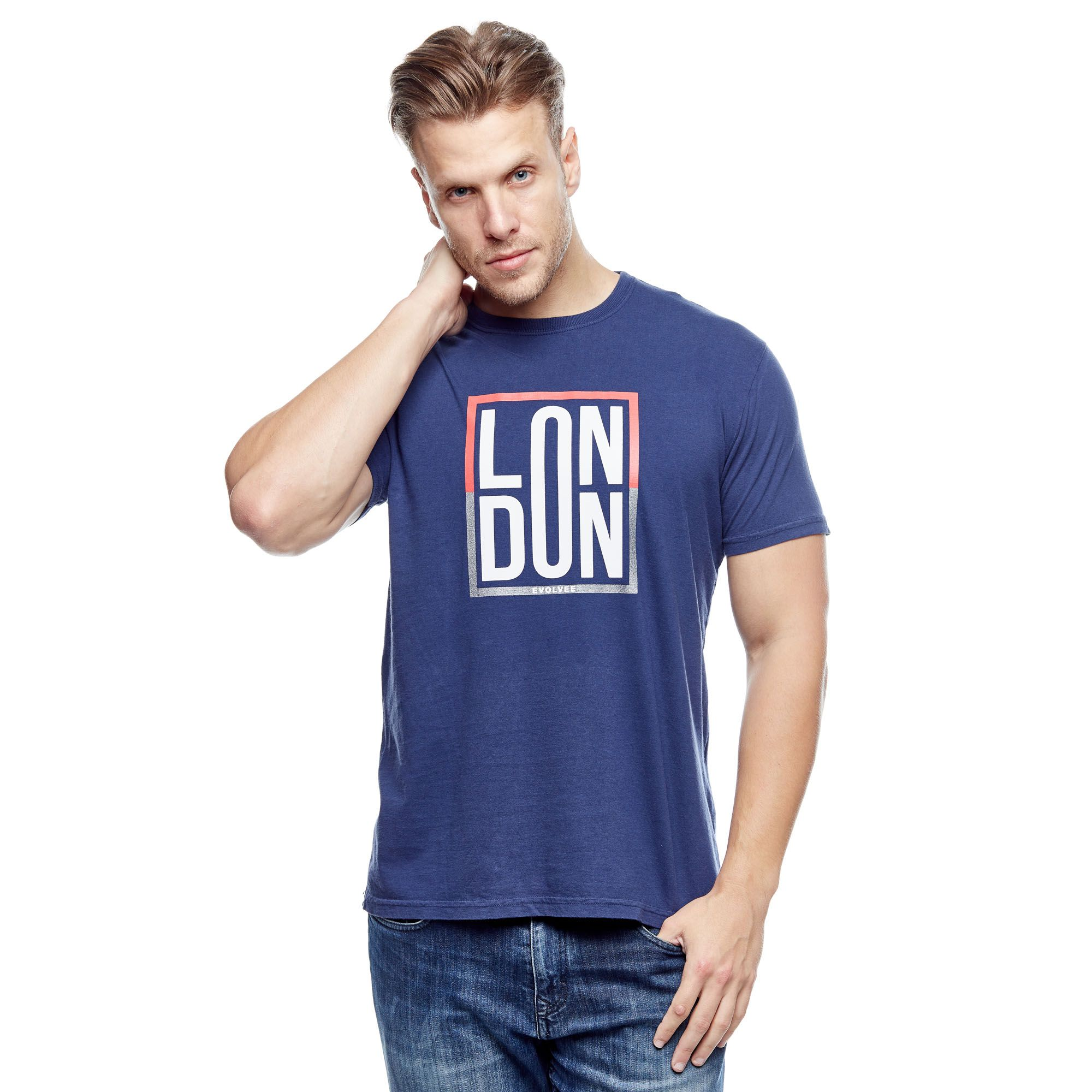 Camiseta Evolvee London Masculina