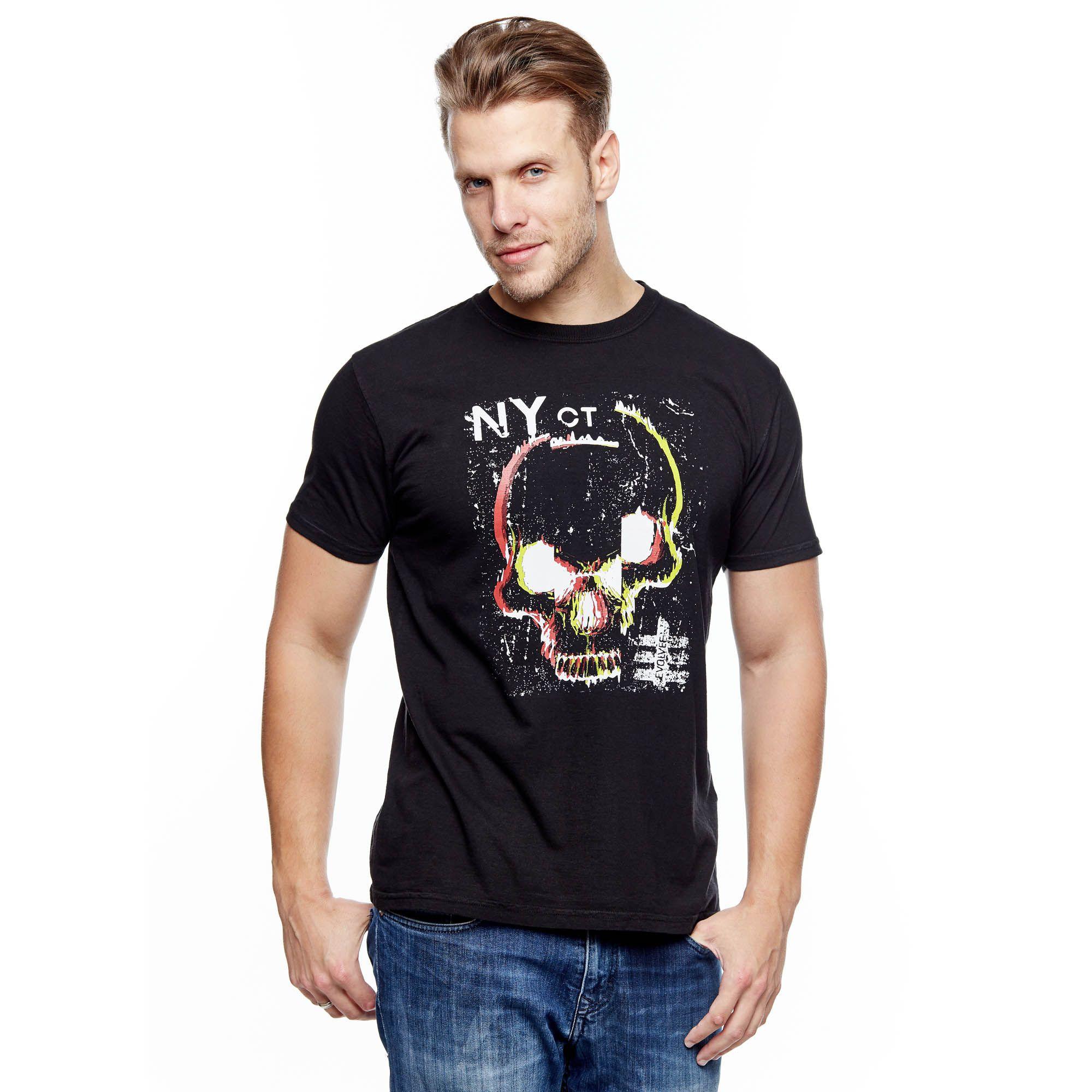 Camiseta Ny Skull Masculina Evolvee