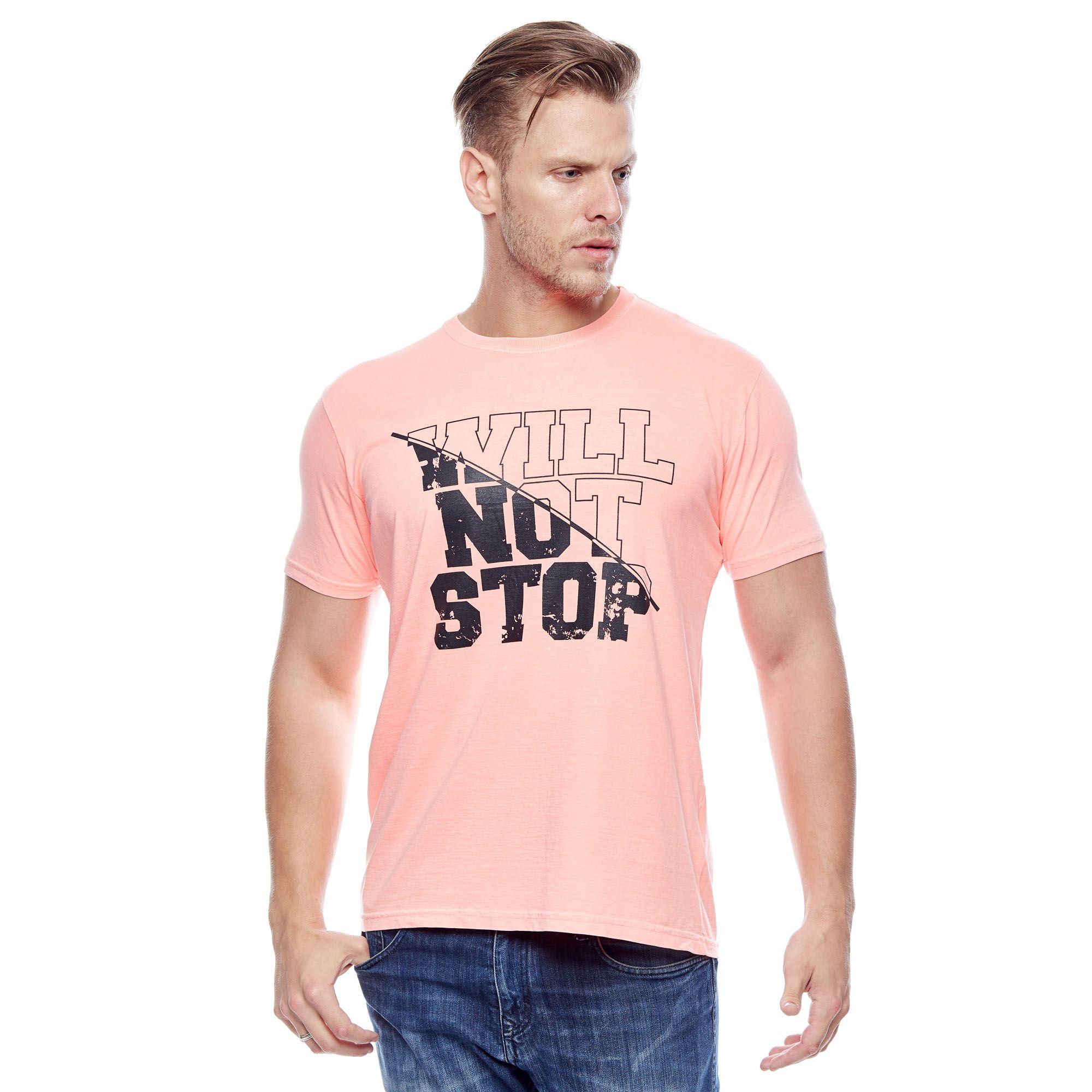 Camiseta Evolvee Will Not Stop Masculina