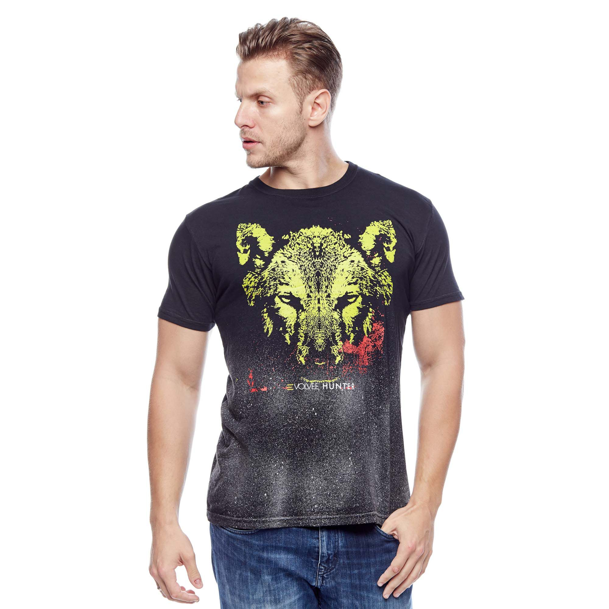 Camiseta Wolf Hunter Masculina Evolvee