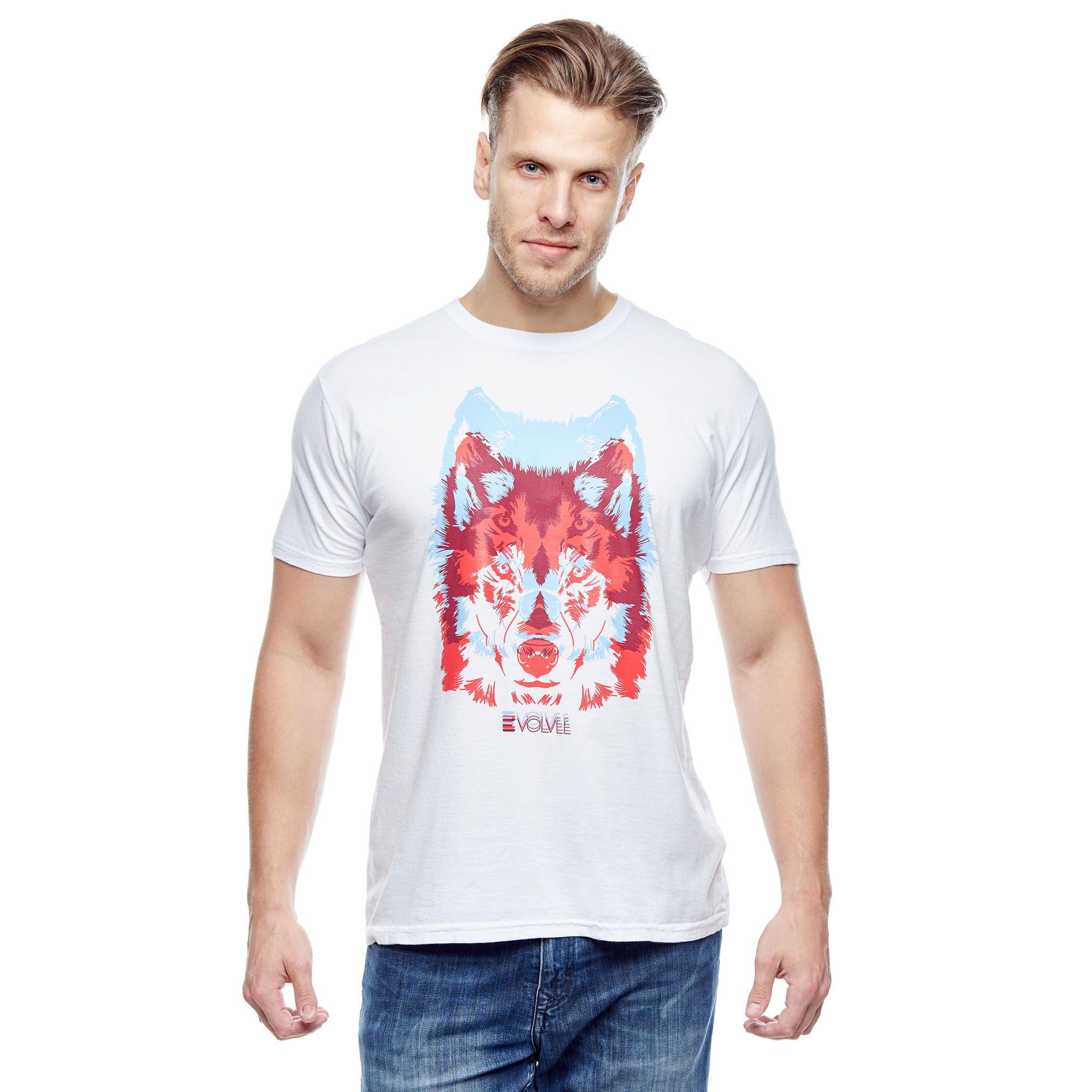 Camiseta Evolvee Wolves Masculina