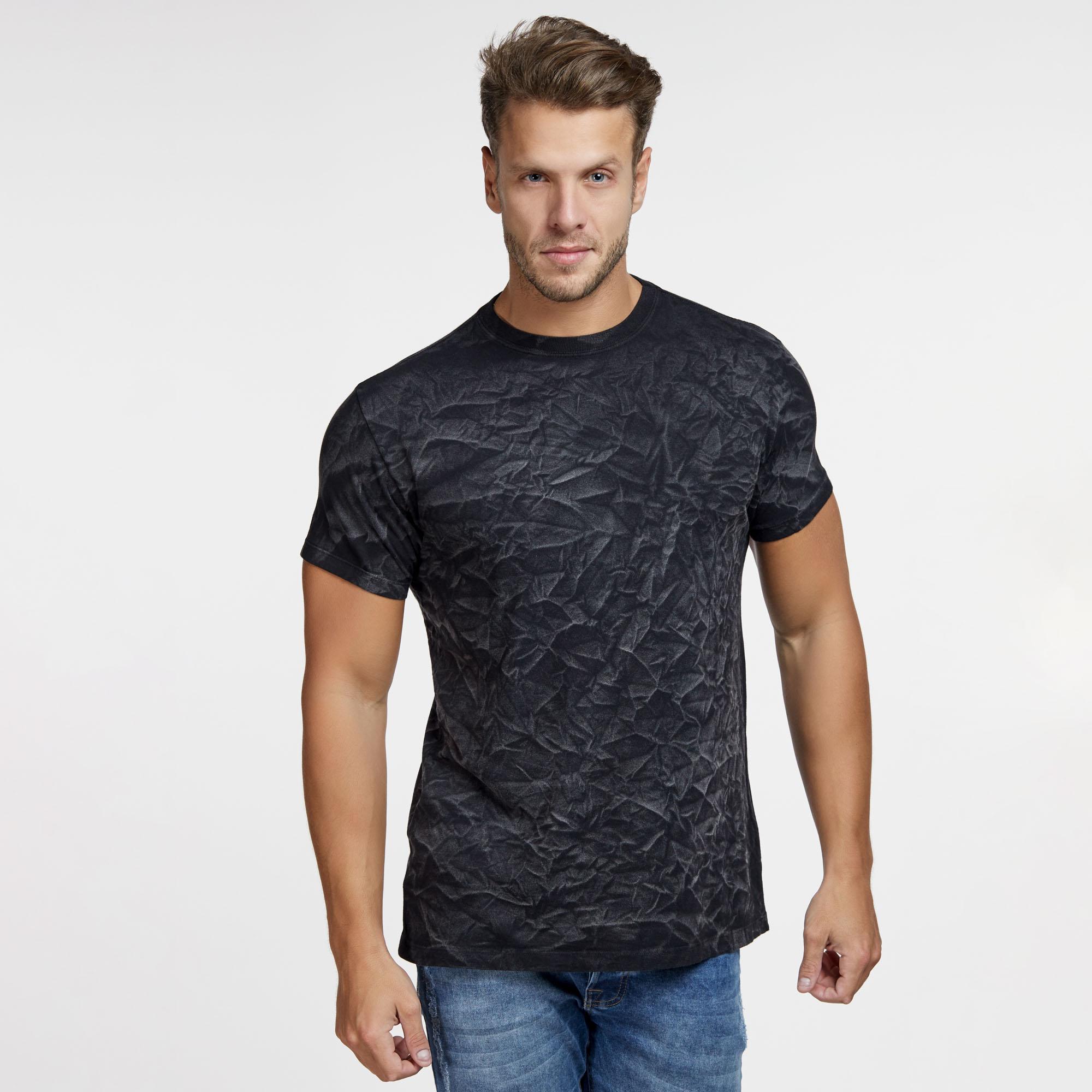 Camiseta Masculina 3D Preta