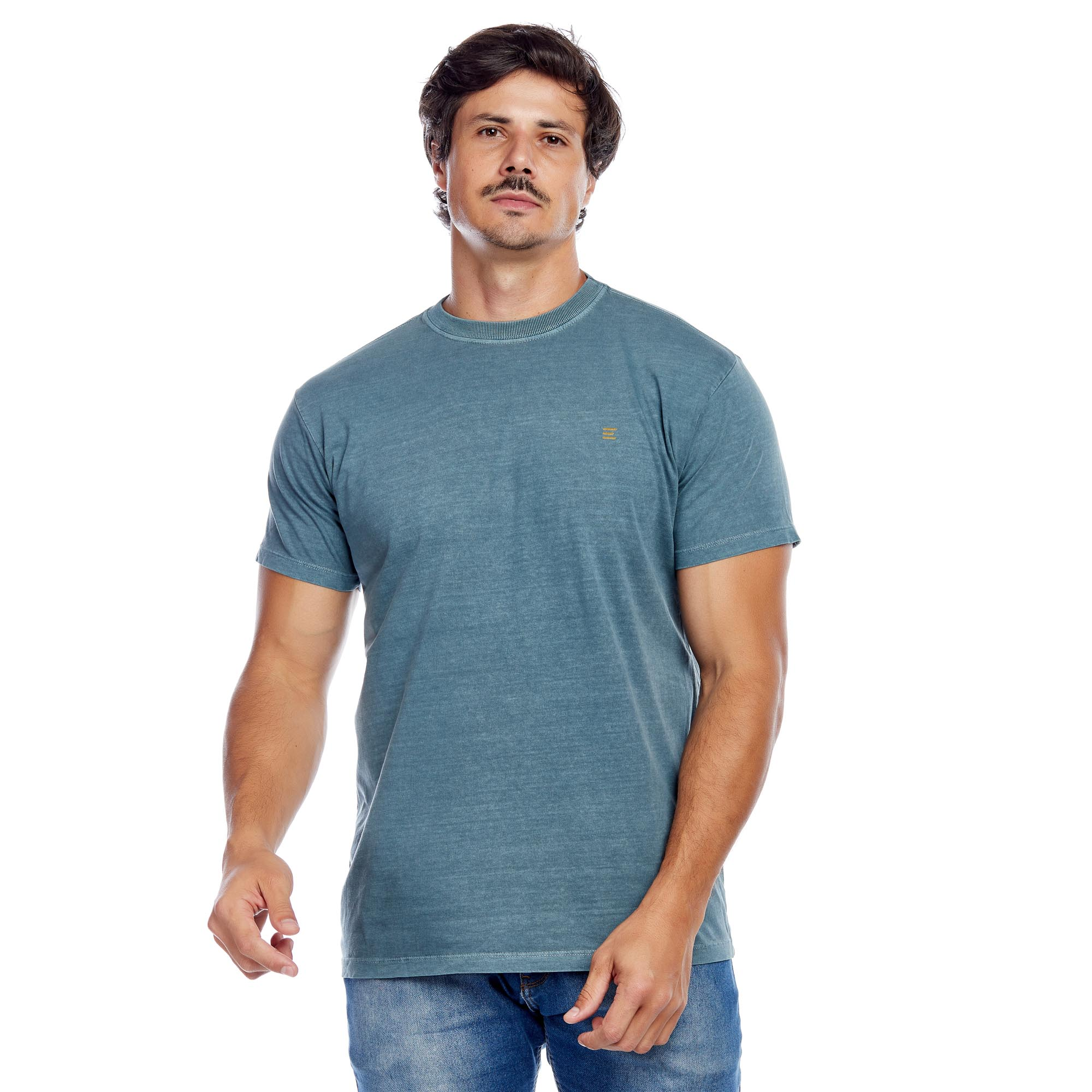 Camiseta Masculina Estonada Evolvee