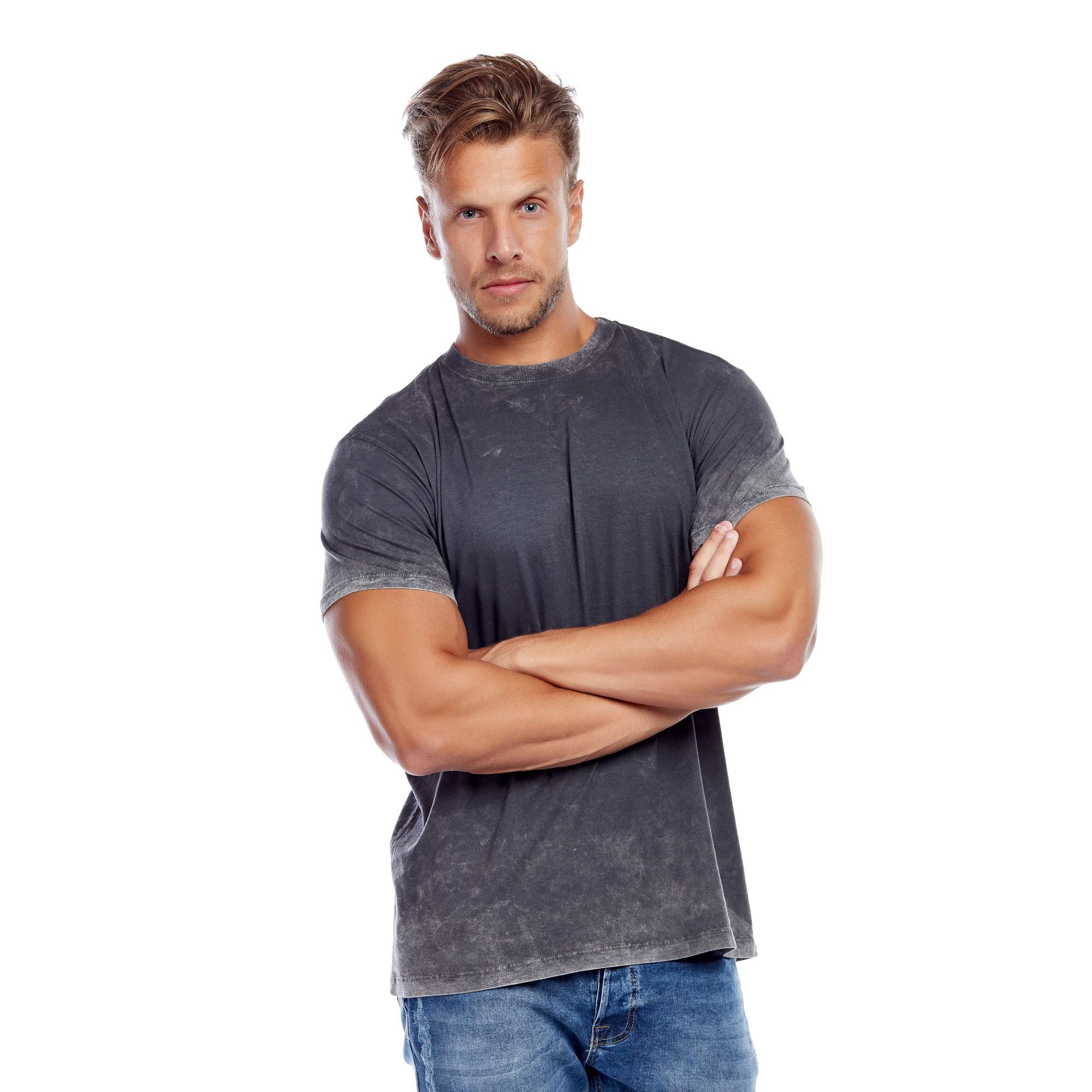 Camiseta Masculina Marmorizada do Avesso Evolvee