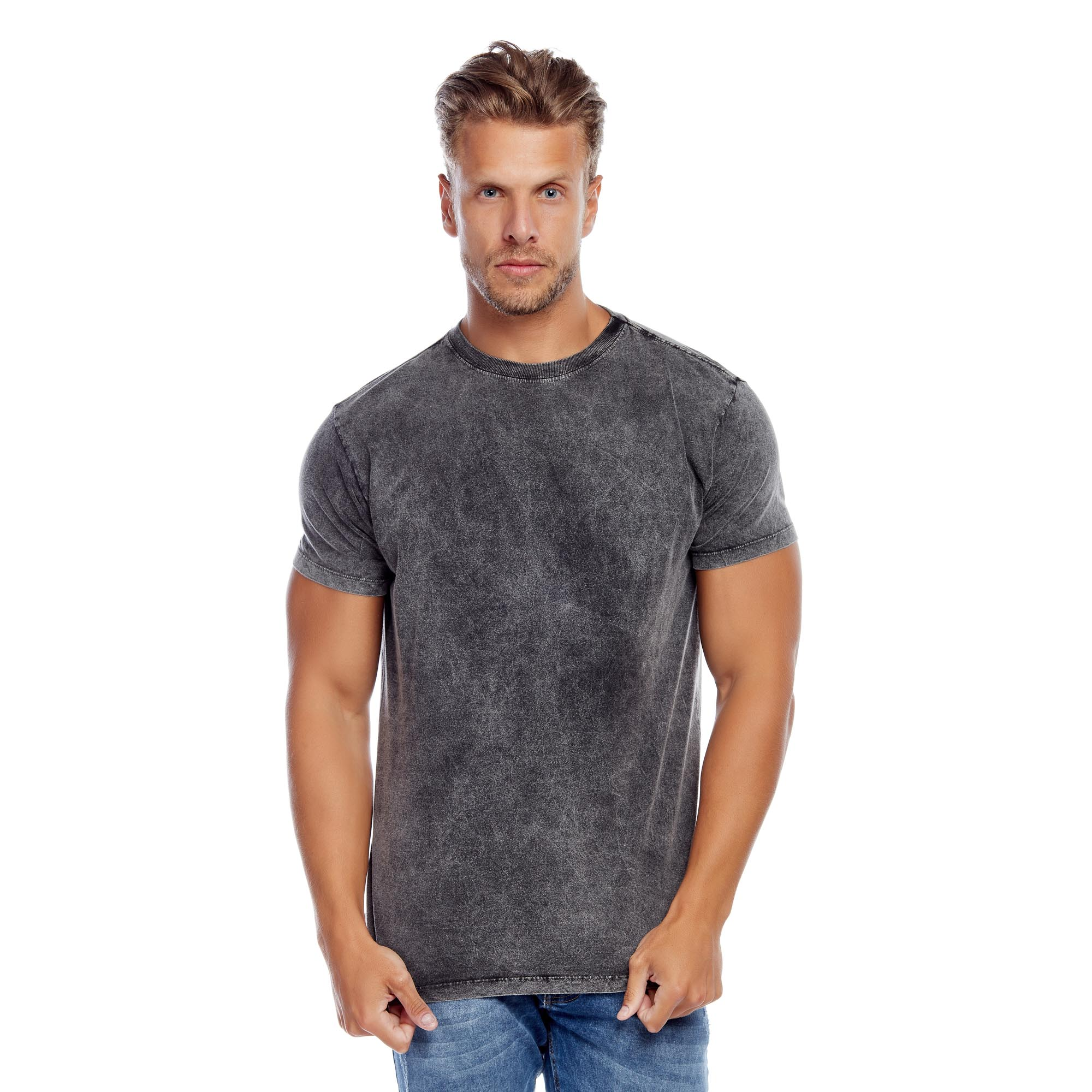 Camiseta Masculina Marmorizada Tradicional Evolvee