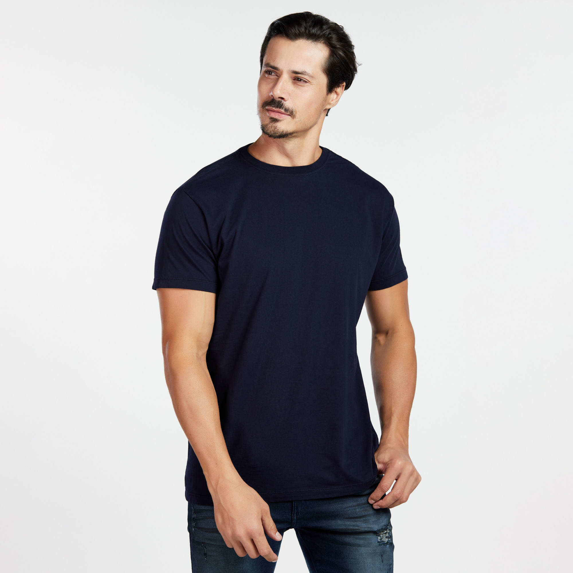 Camiseta Masculina Reativo Azul Marinho