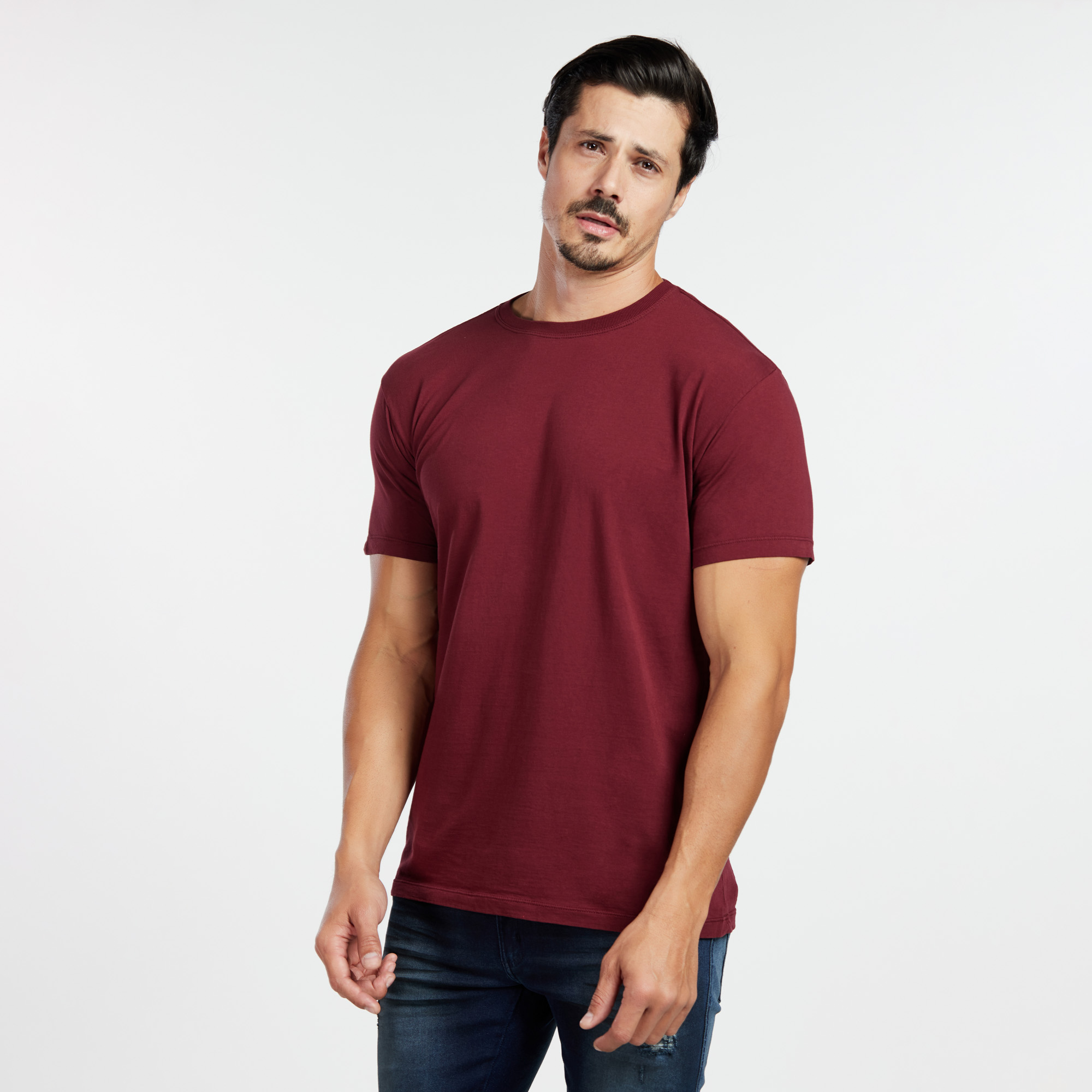 Camiseta Masculina Reativo Bordo